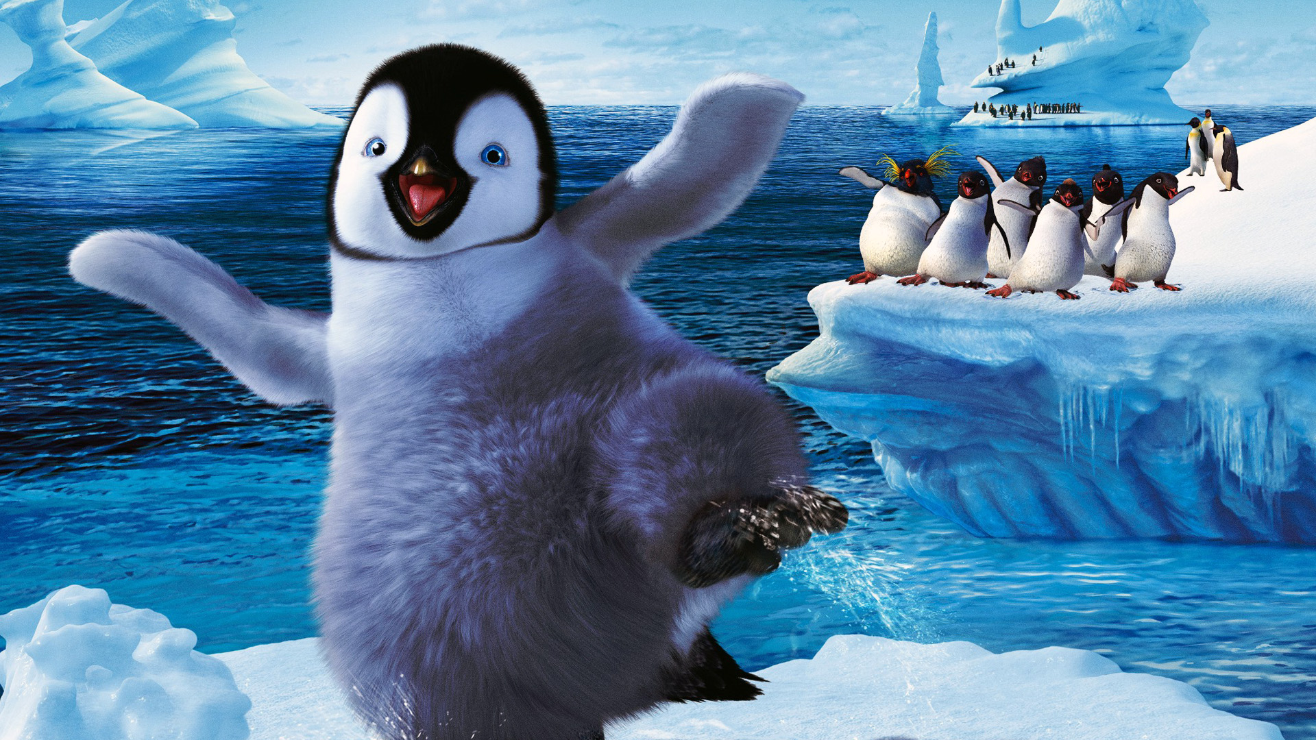 Free Happy Feet 2 Wallpaper