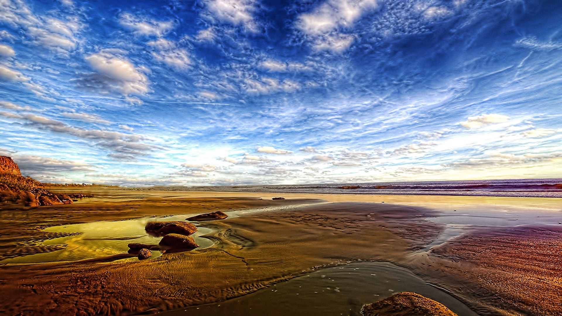 Download · Hd Golden Beach Hdr Wallpaper Download Free