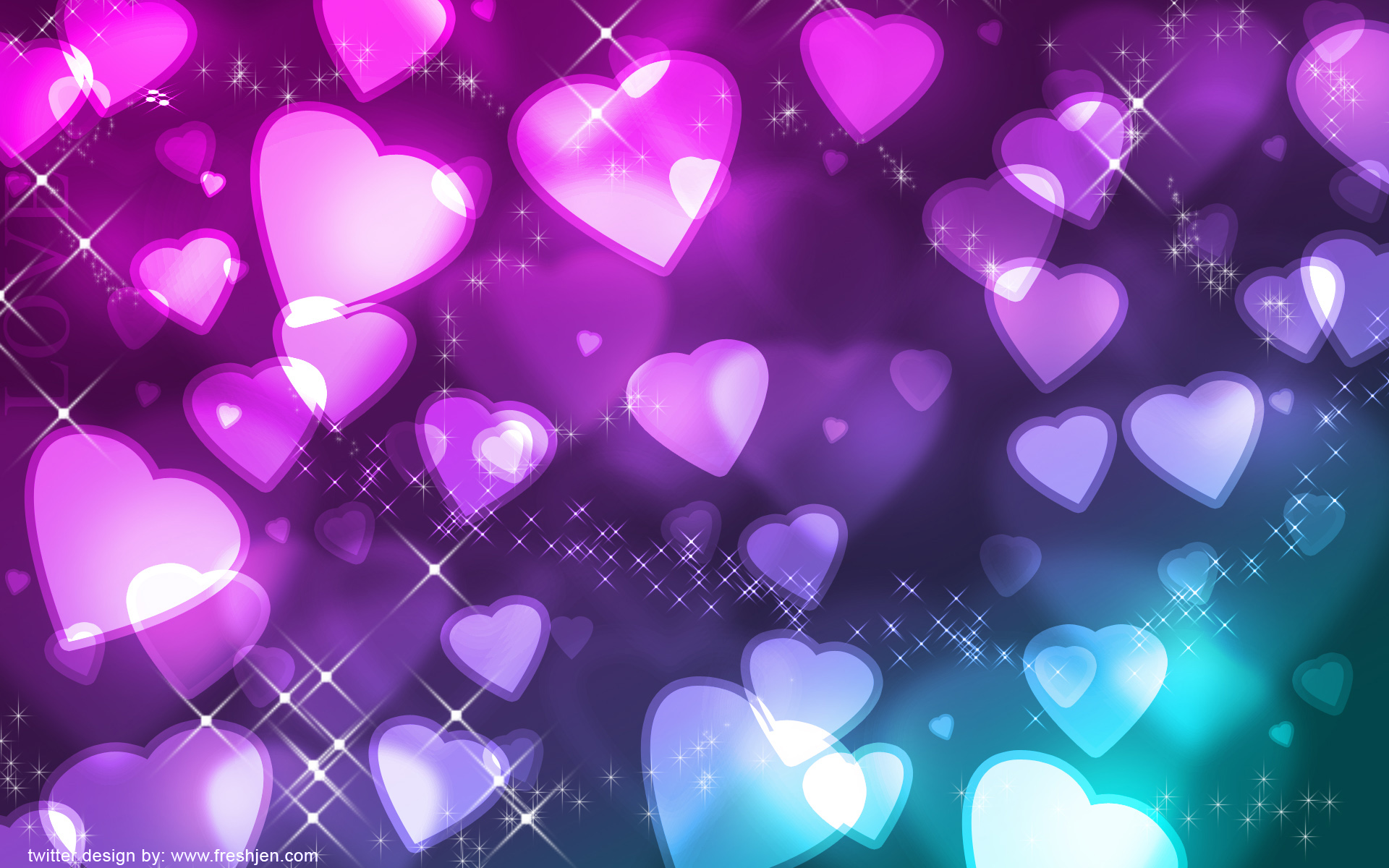 Cute Hearts Backgrounds Wallpaper Download