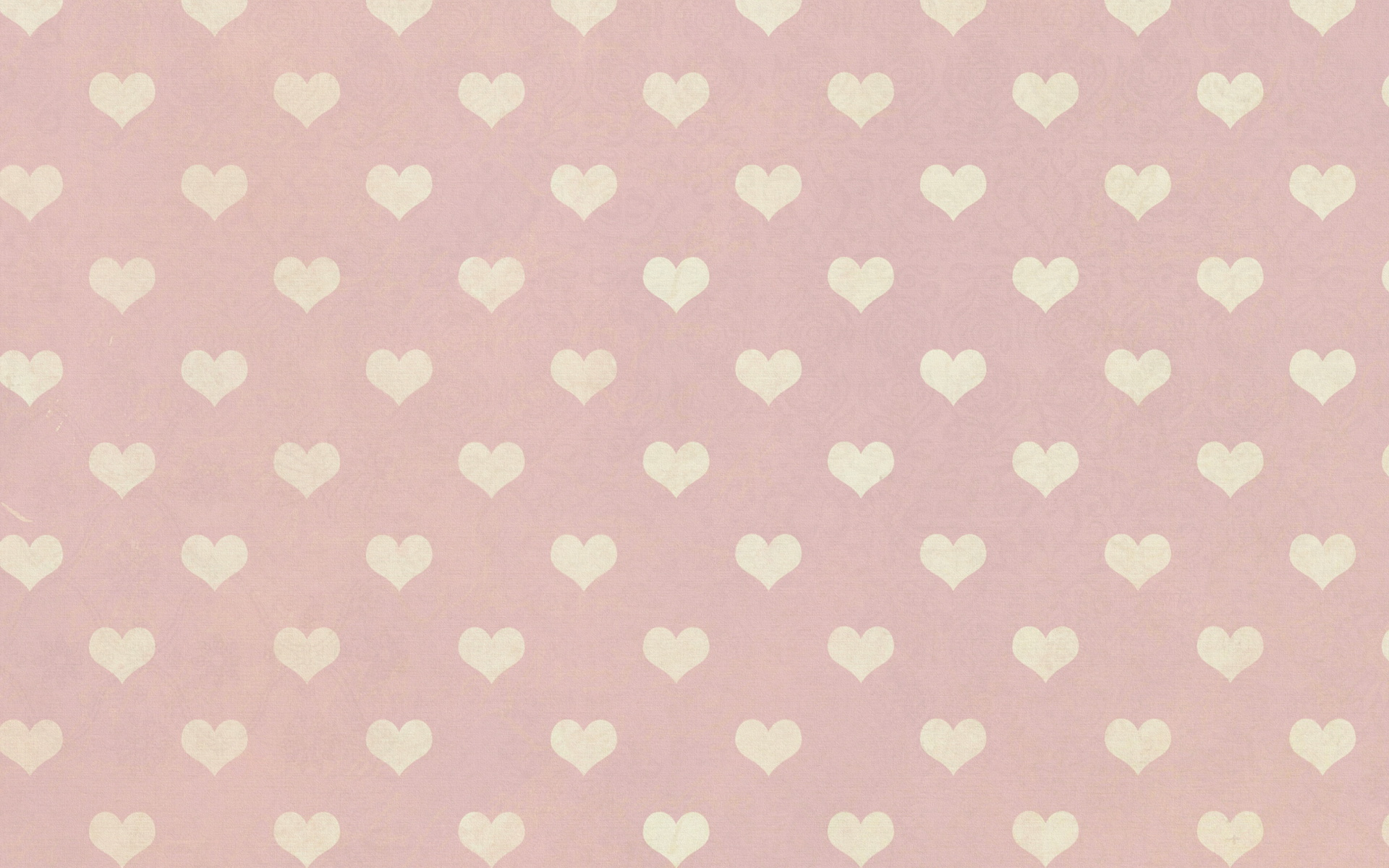 Free Heart Pattern Wallpaper
