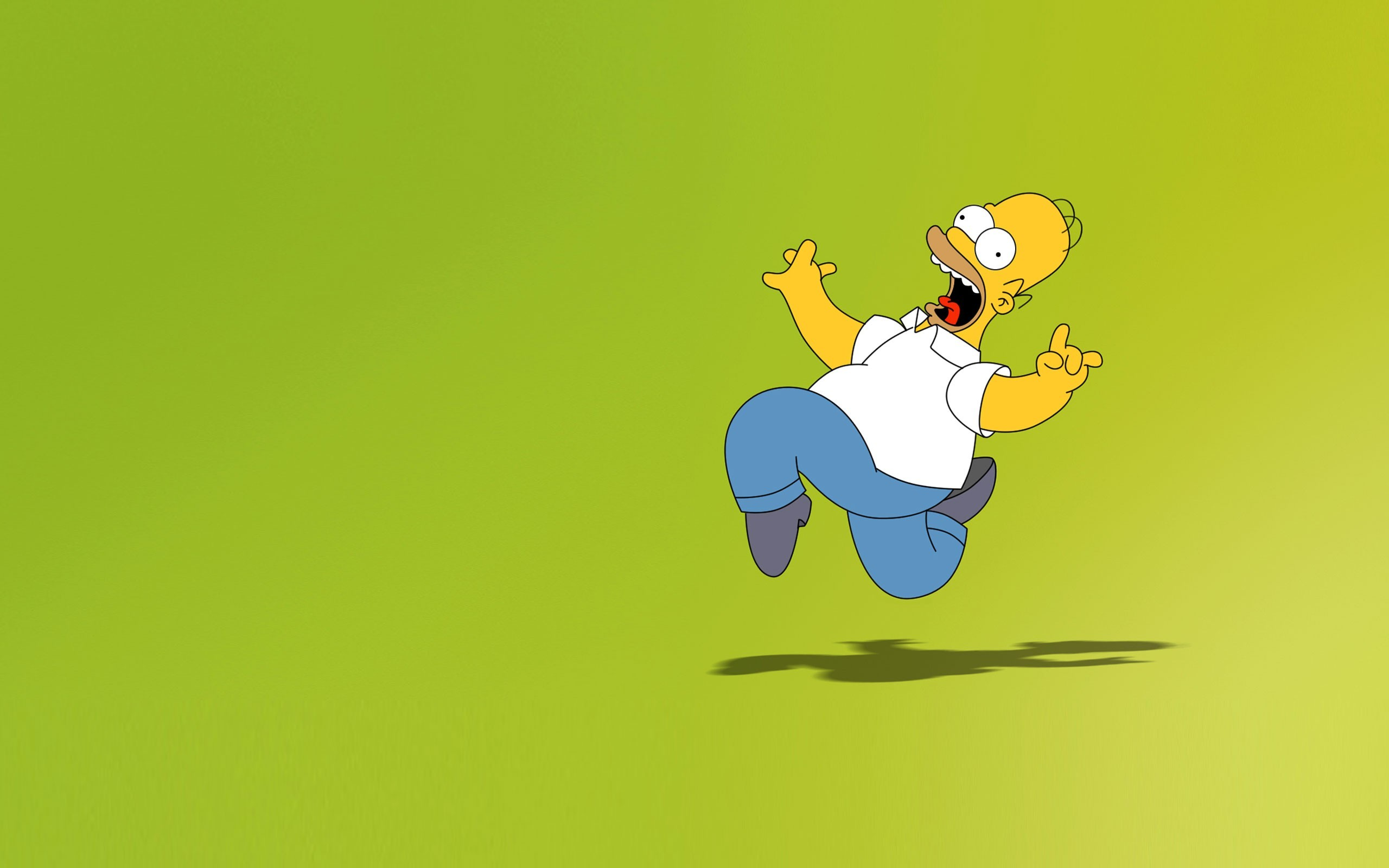 Free Homer Simpson Wallpaper