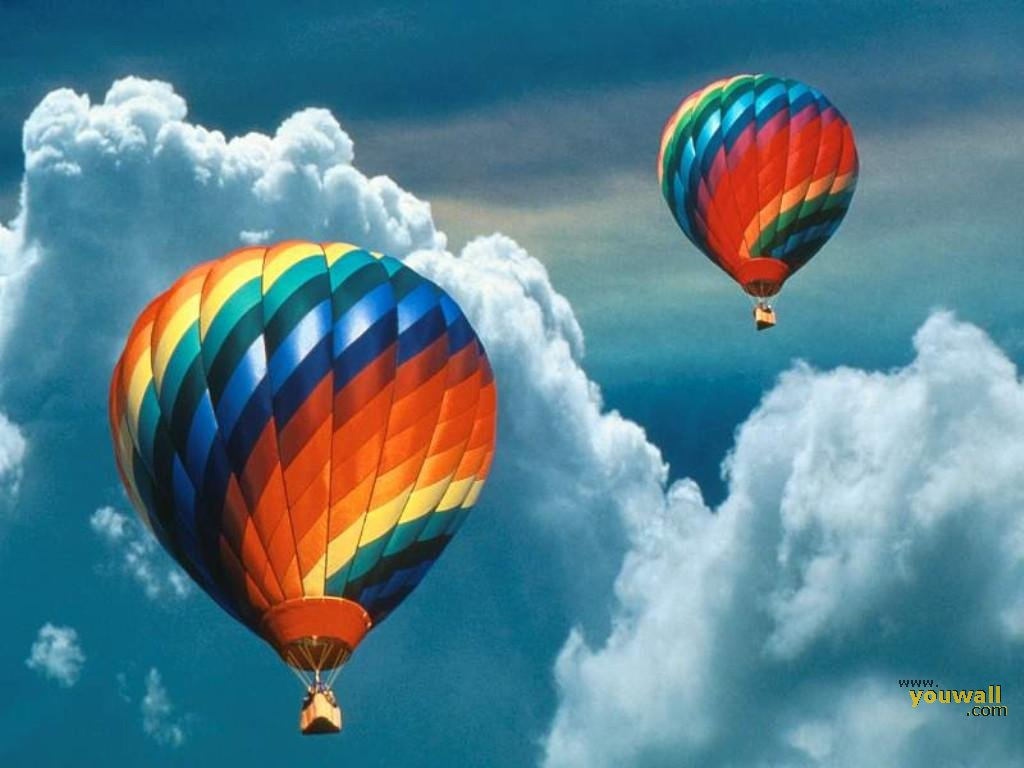 Free Hot Air Balloon Wallpaper 1024x768 83257