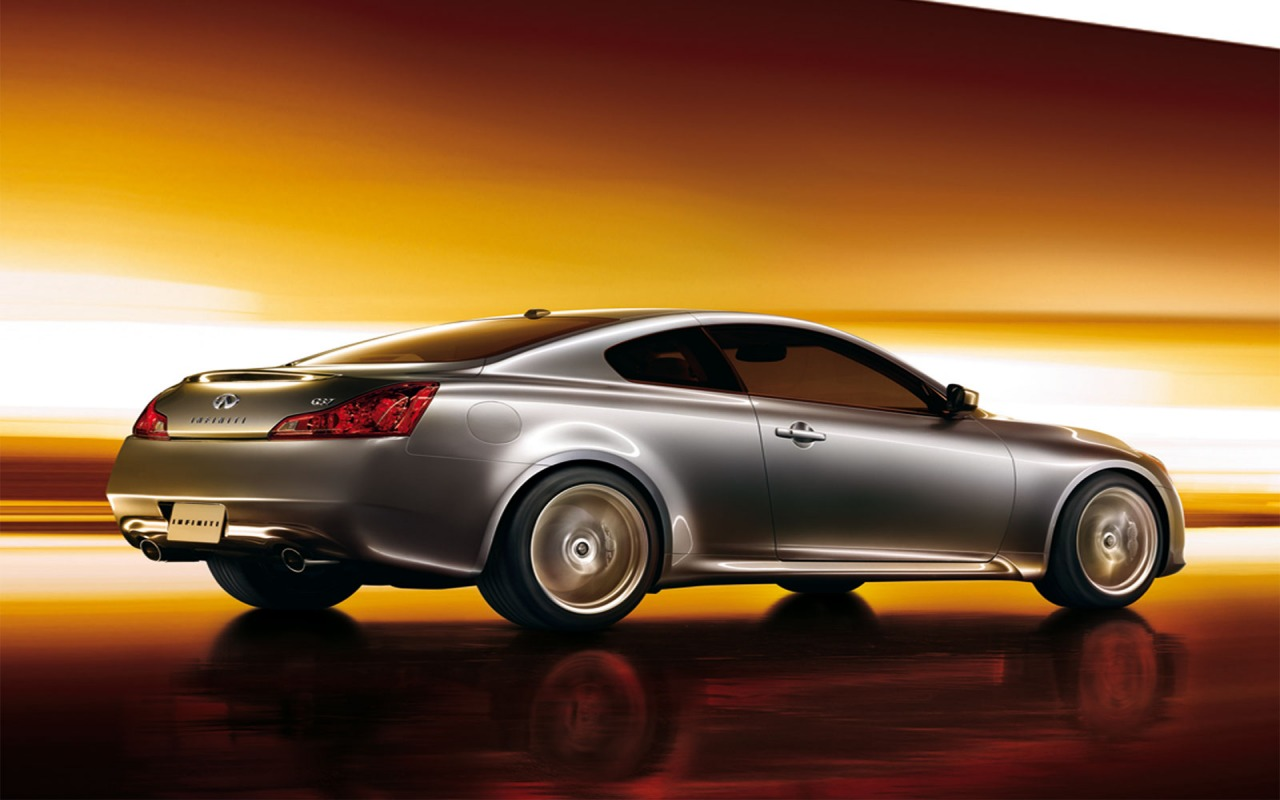 Infiniti G37 Coupe trasera y lateral Infiniti Cars Wallpaper