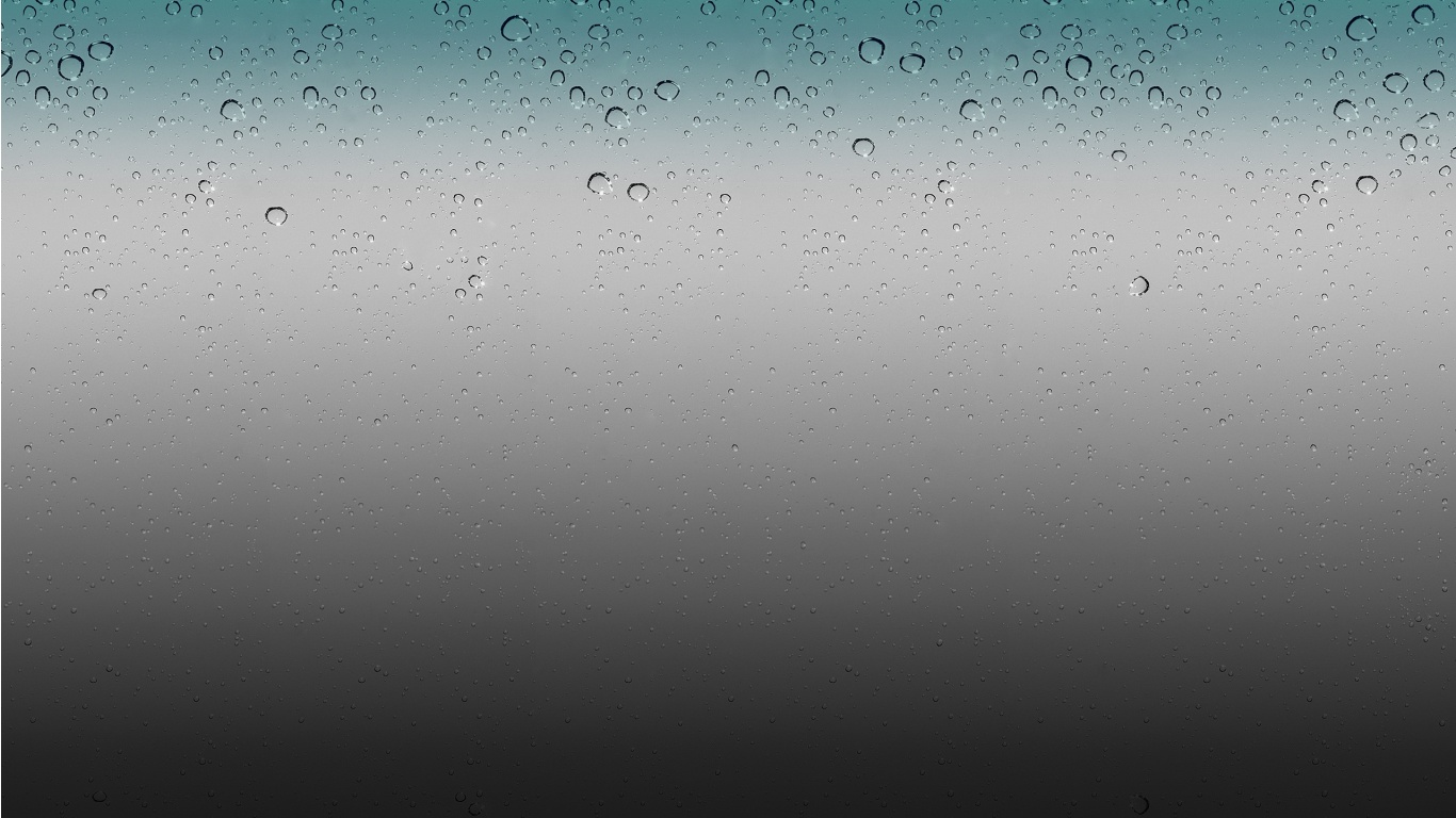 Ios Rain Drops Wallpaper
