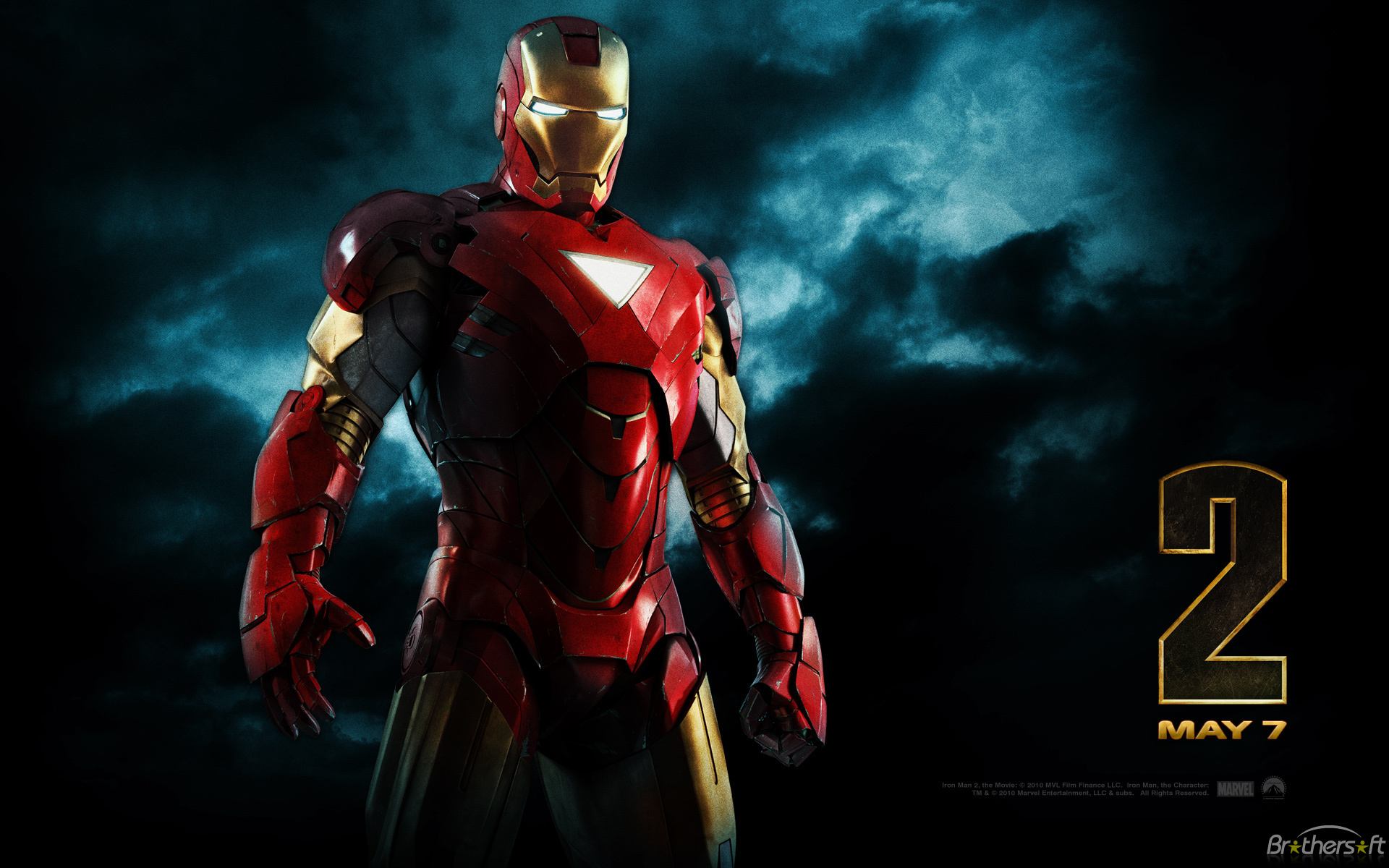 Free Iron Man Wallpaper