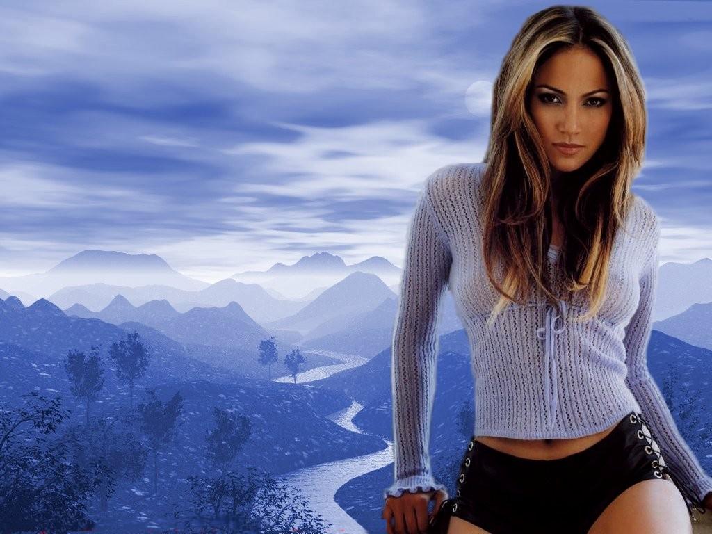 Desktop Wallpaper · Celebrities · Music Jennifer Lopez - Play