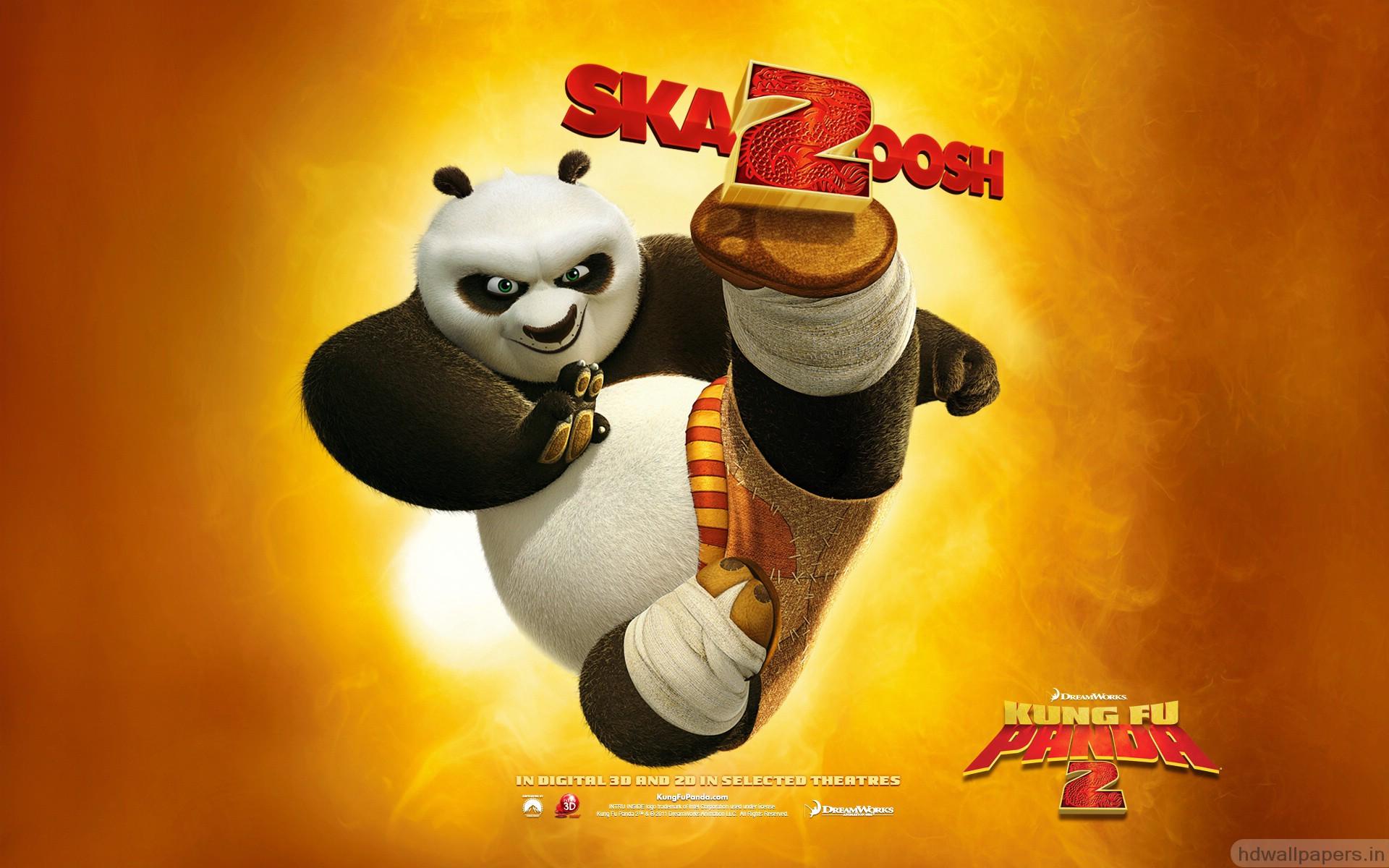 Free Kung Fu Panda 2 Wallpaper