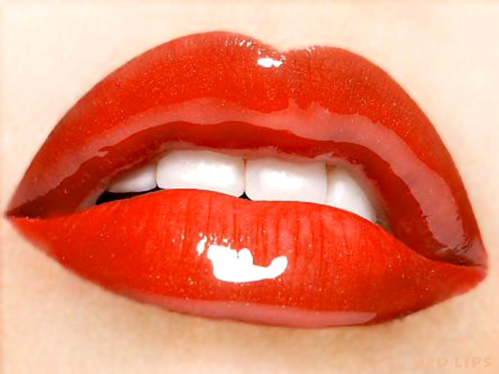 Free Lips Wallpaper