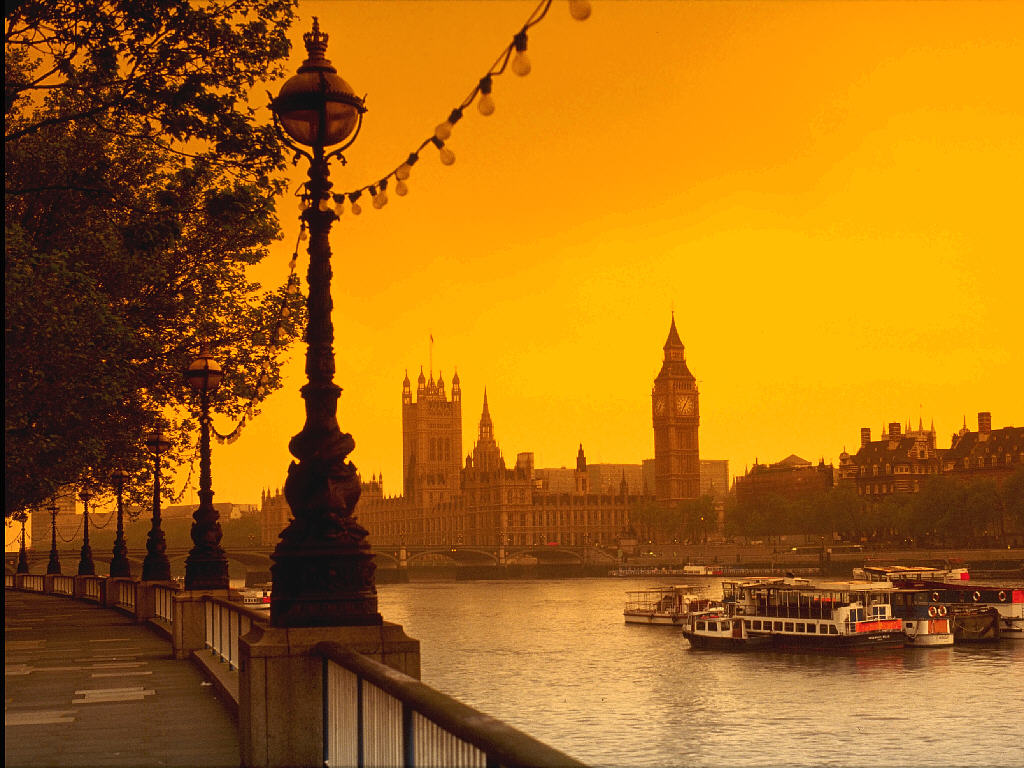 Desktop Wallpaper · Gallery · Travels River Thames - London