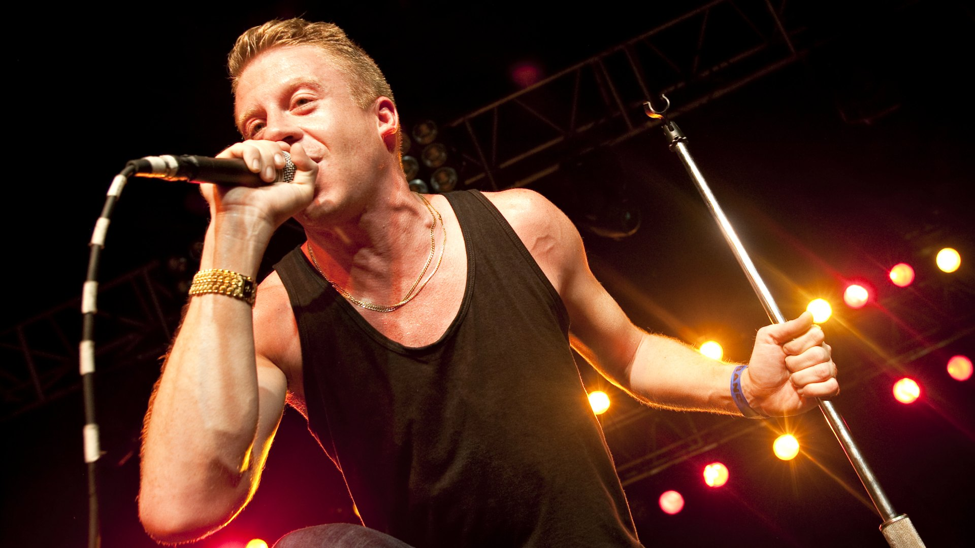 """Download the following Free Macklemore Wallpaper 21608 by clicking the orange button positioned underneath the """"Download Wallpaper"""" section."""