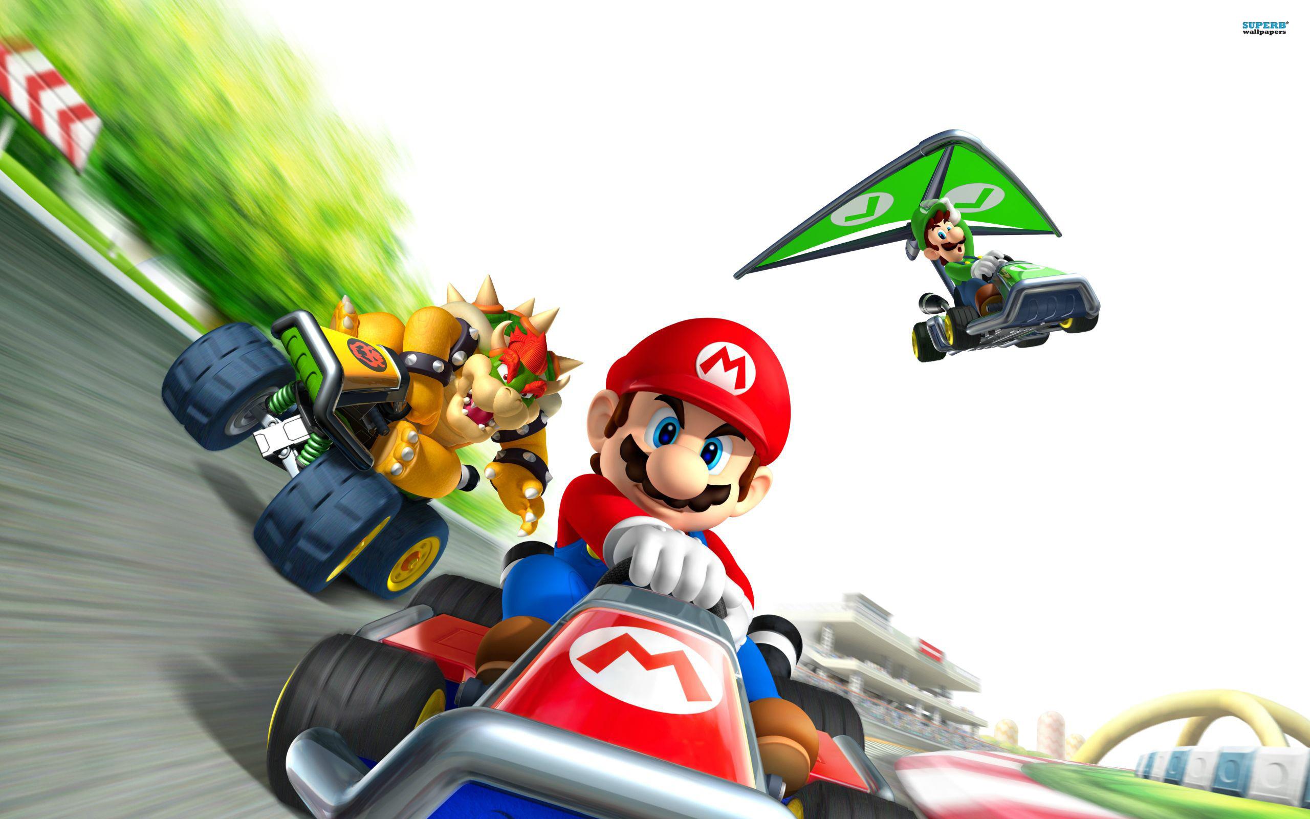 Free Mario Kart Wallpaper