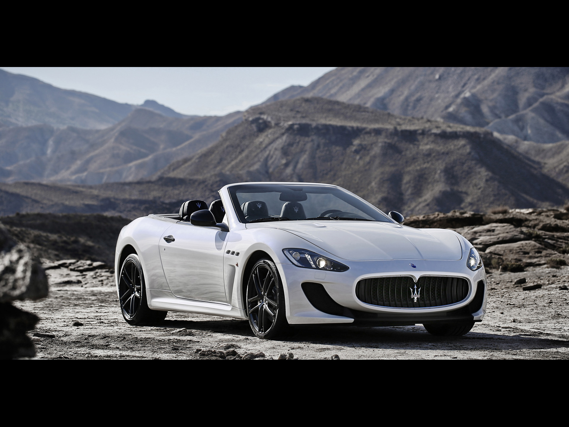 Maserati GranCabrio MC Static