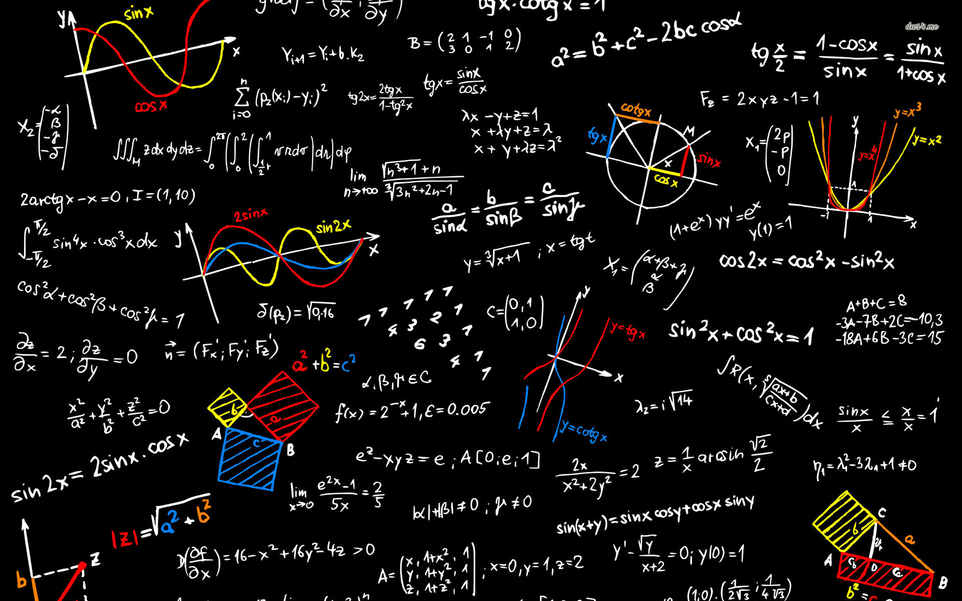 Free Math Wallpaper
