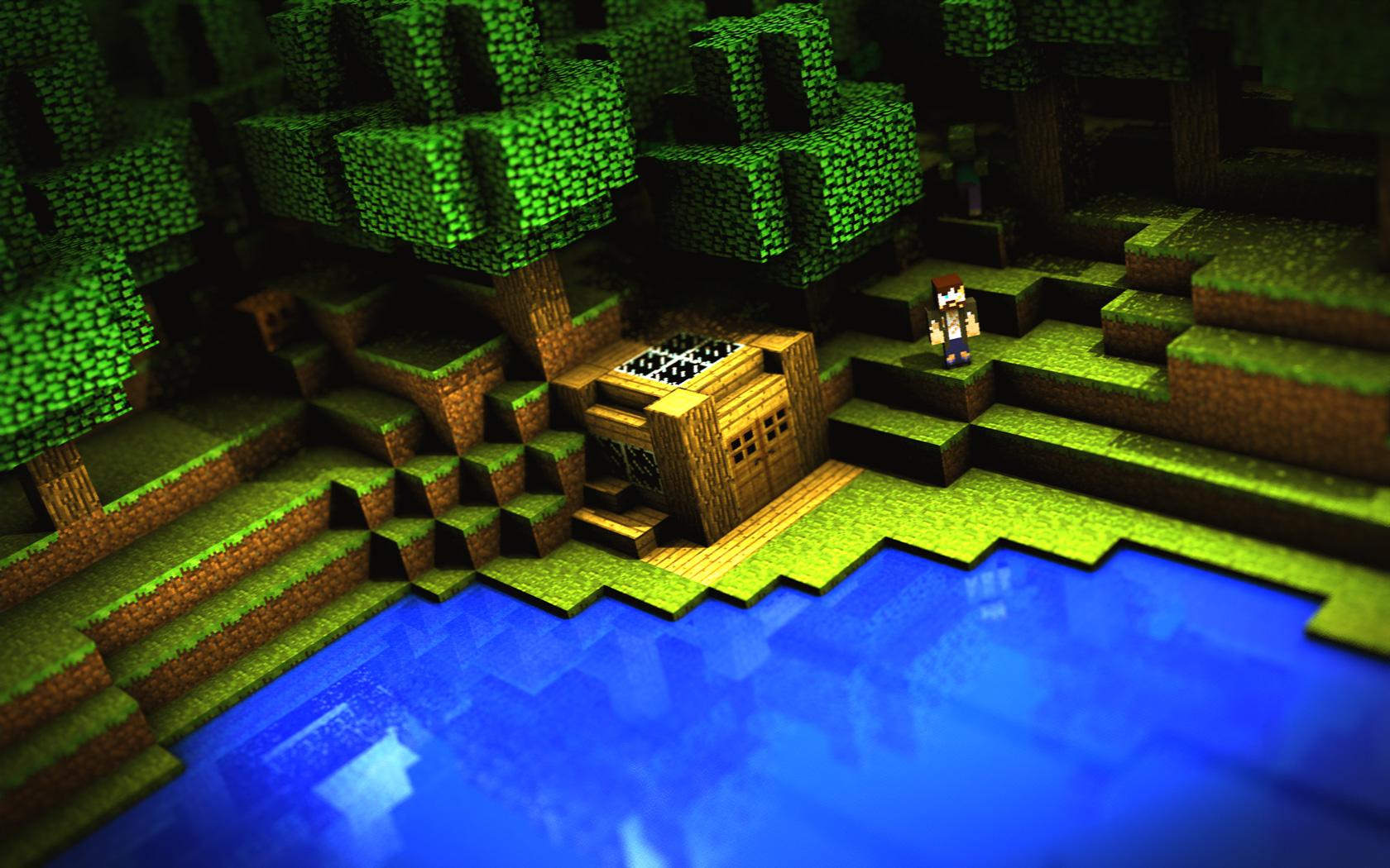 Free Minecraft Wallpaper 2045
