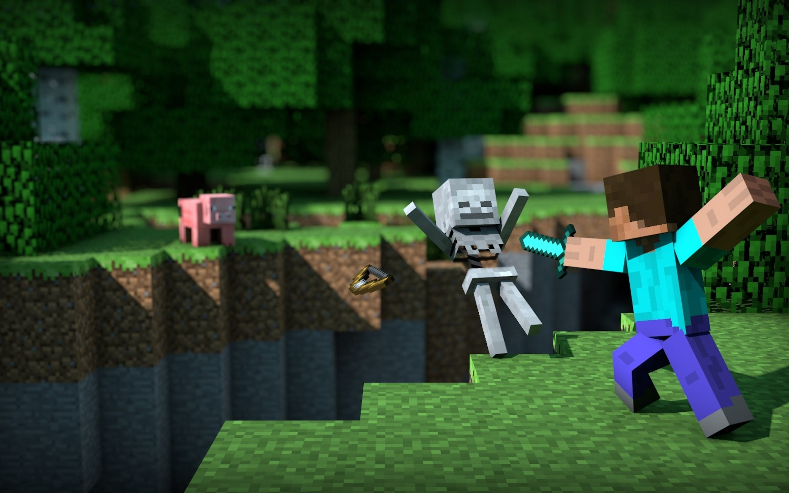 Free Minecraft Wallpaper