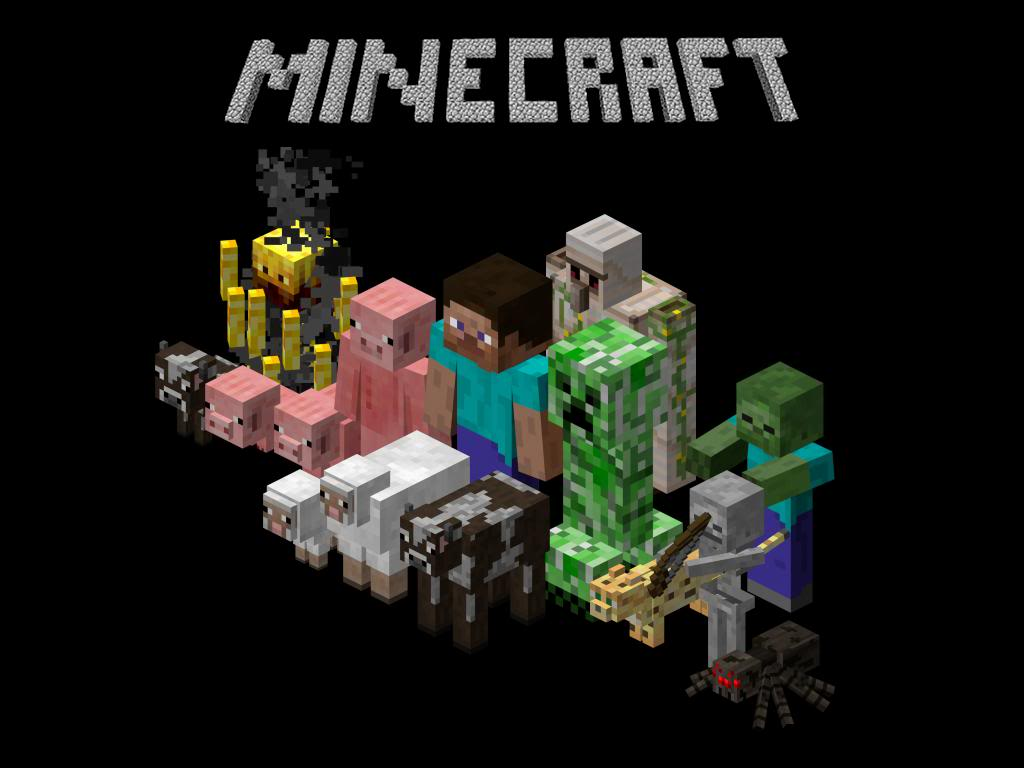 Minecraft Wallpaper Mobs Free Desktop Hd Wallpapers Planezen