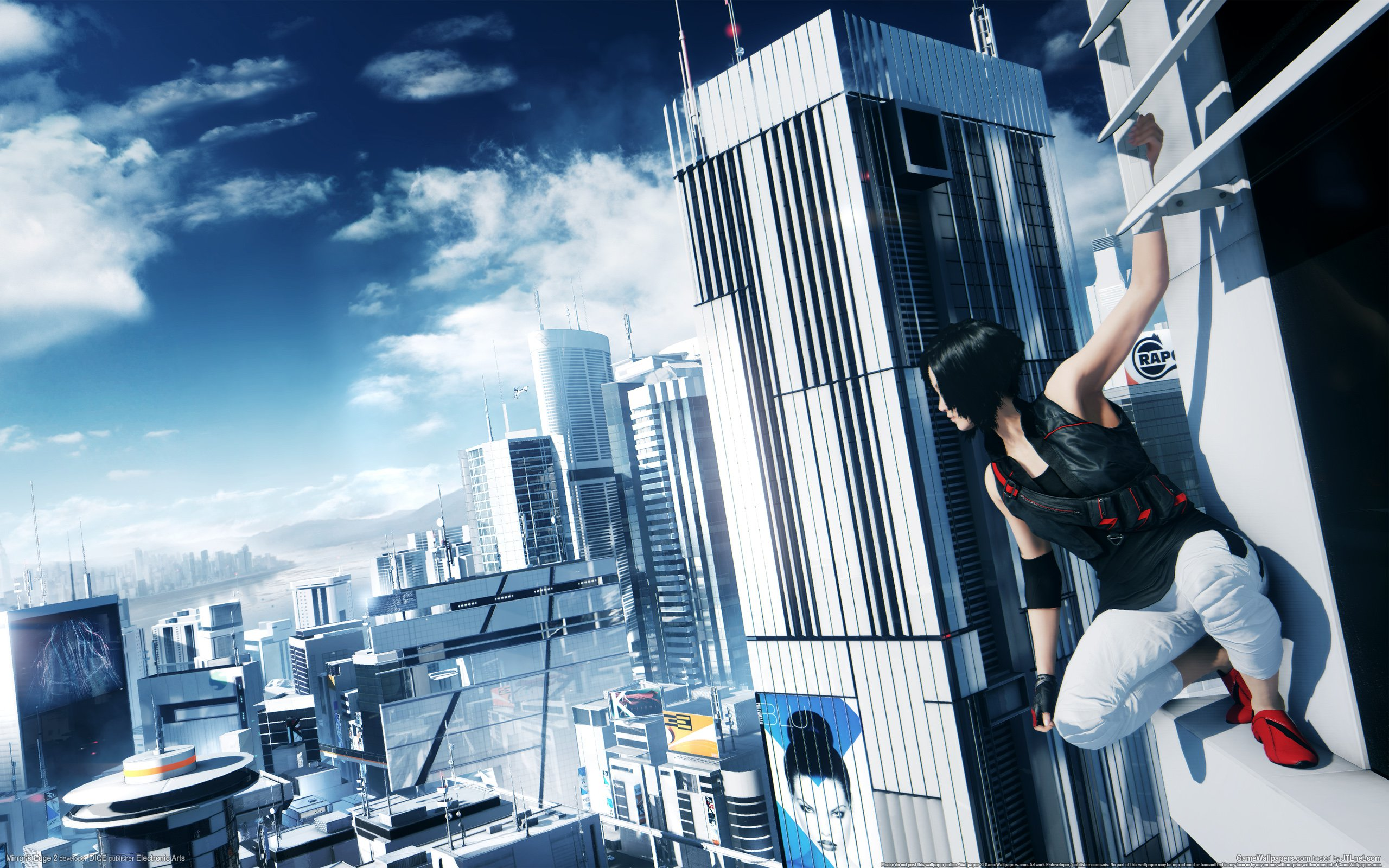 Free Mirrors Edge Wallpaper