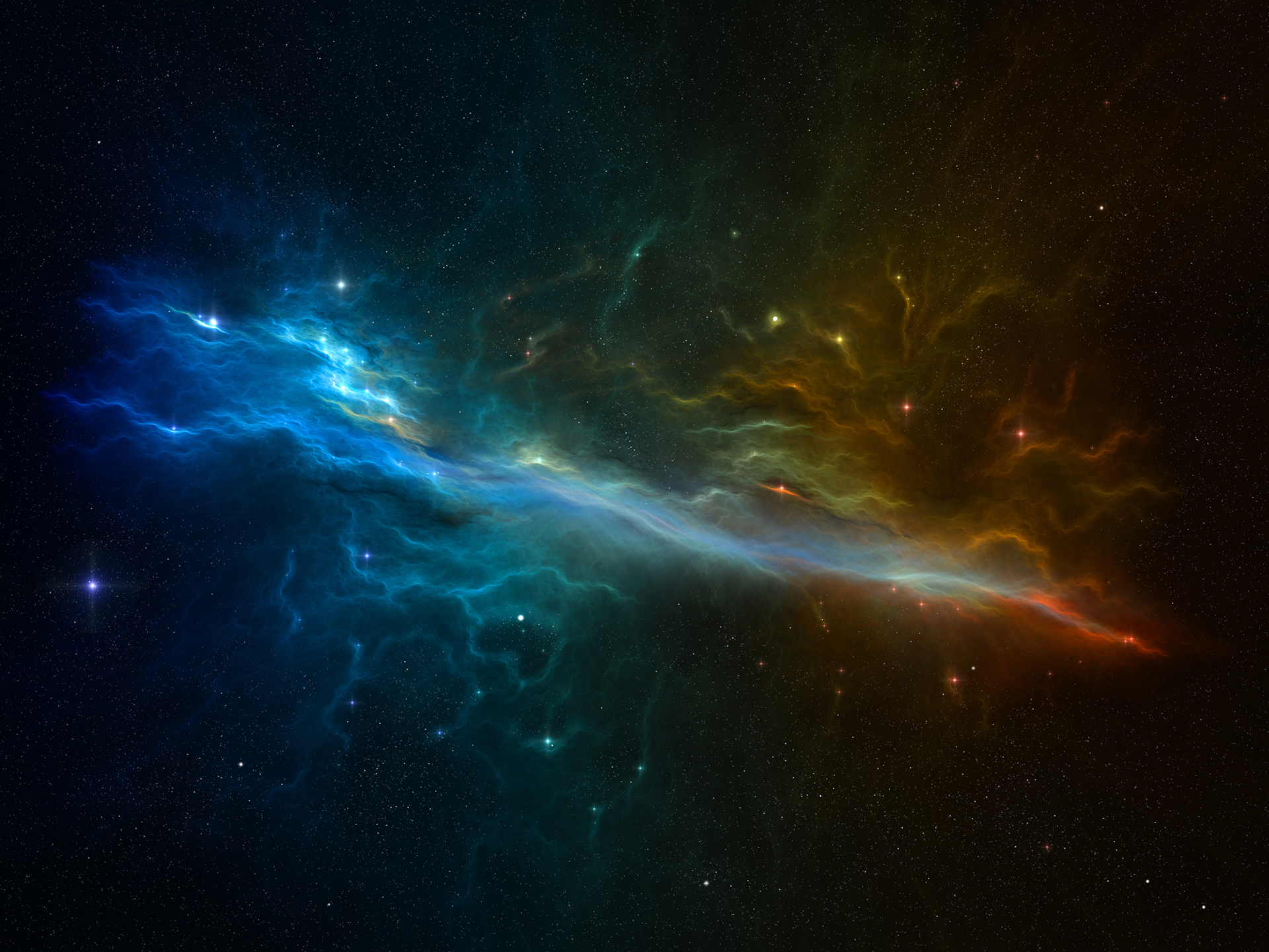 Medusa Nebula computer background free wallpaper
