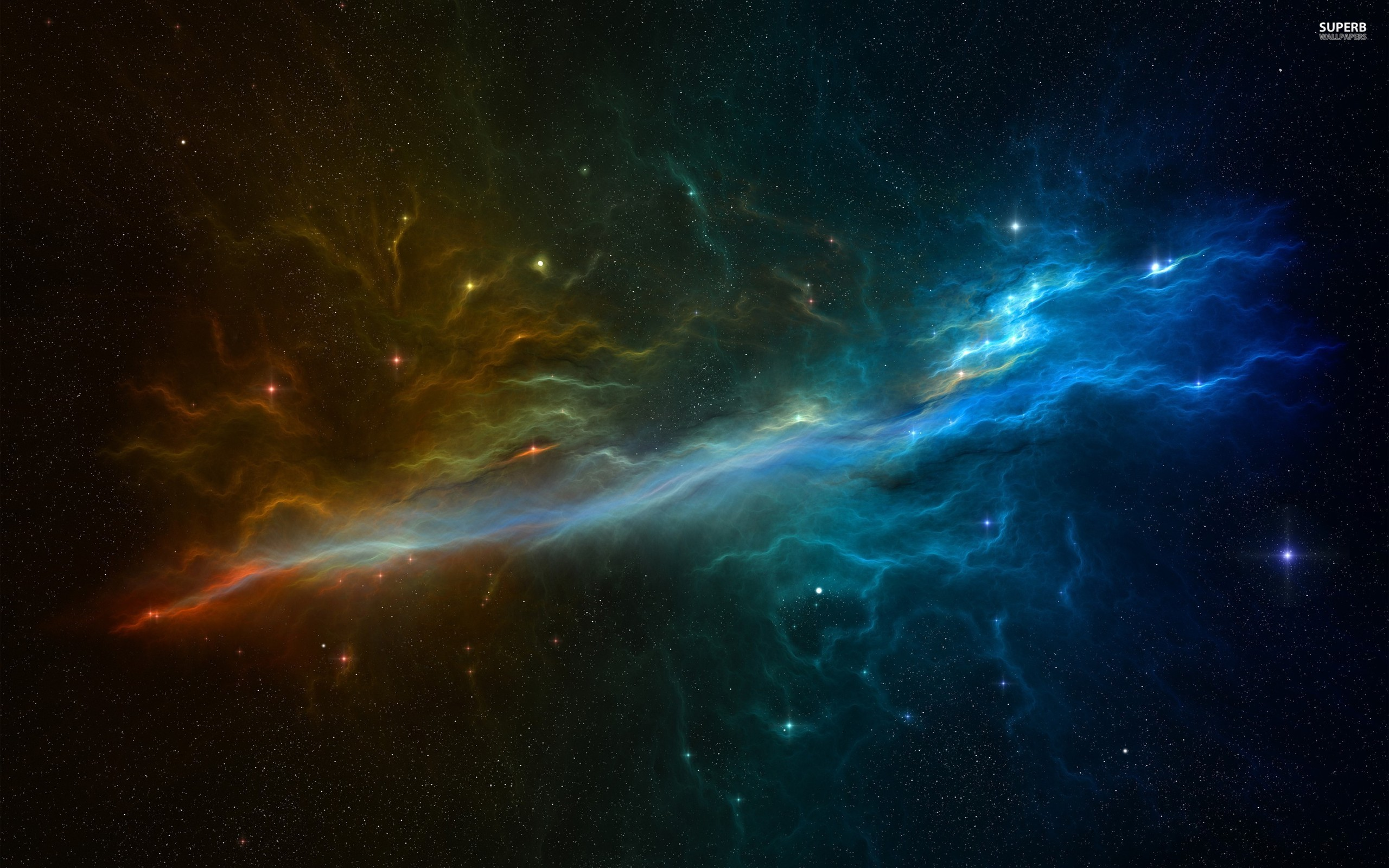 Nebula wallpaper 2560x1600