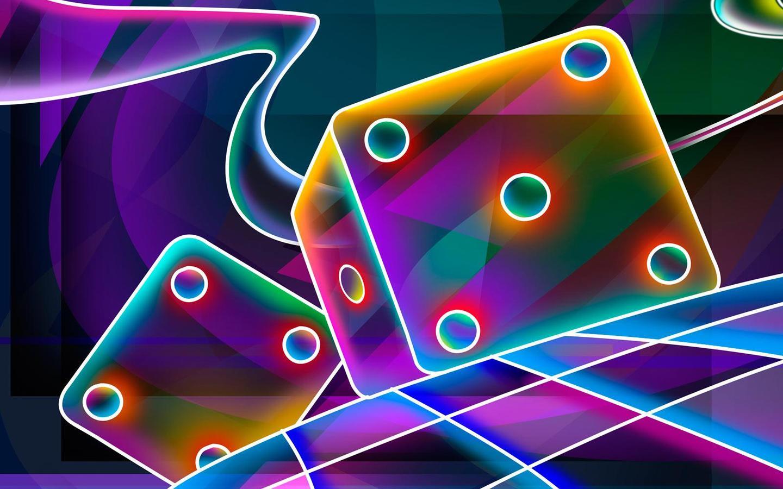 Free Neon Wallpaper