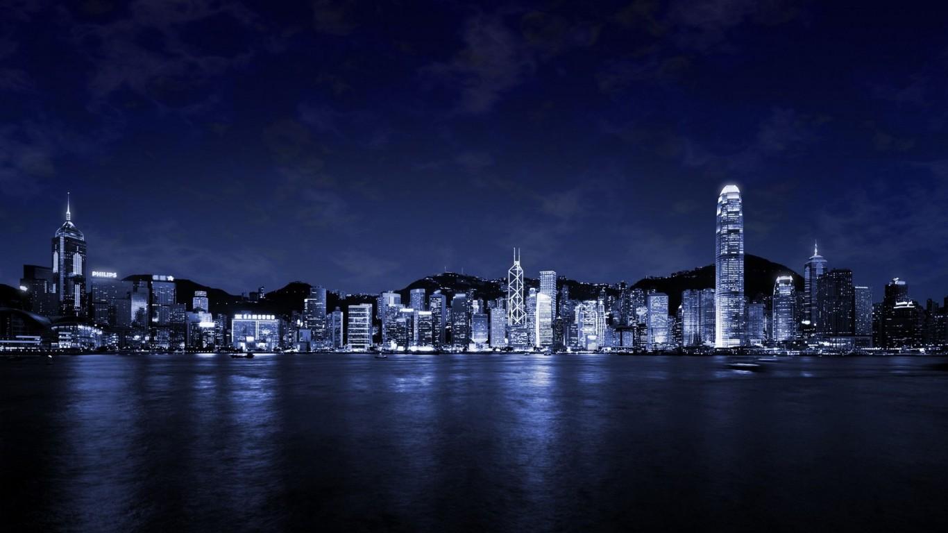 Free Night Cityscape