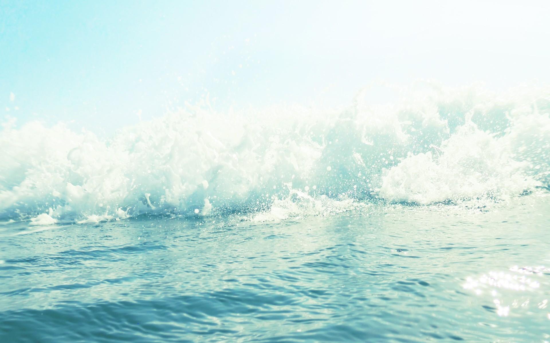 Free Ocean Bokeh Wallpaper