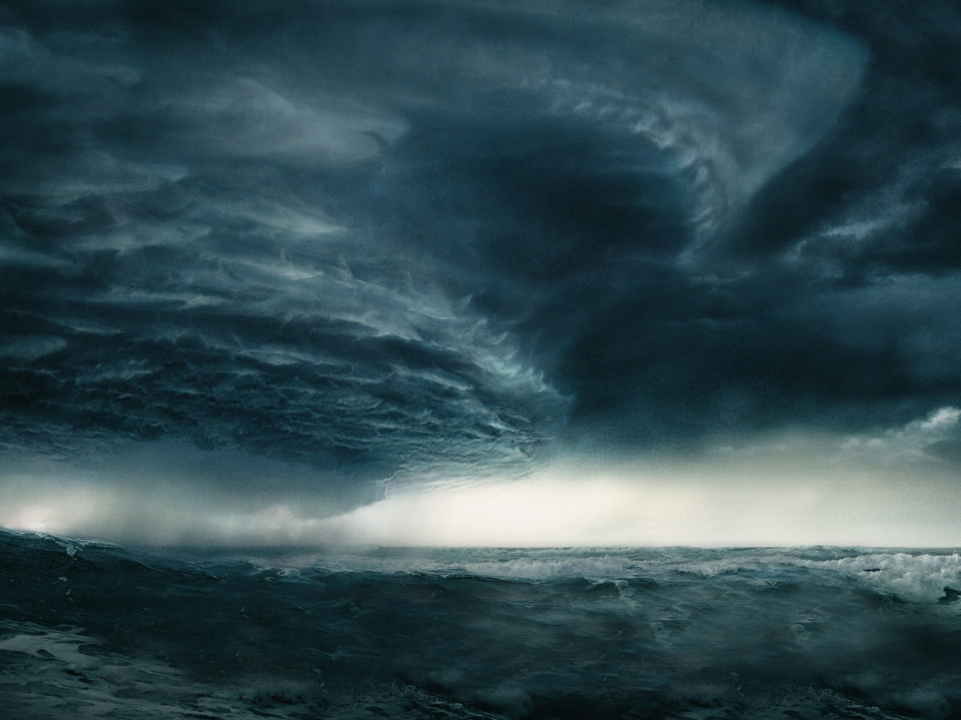 Free Ocean Storm Wallpaper