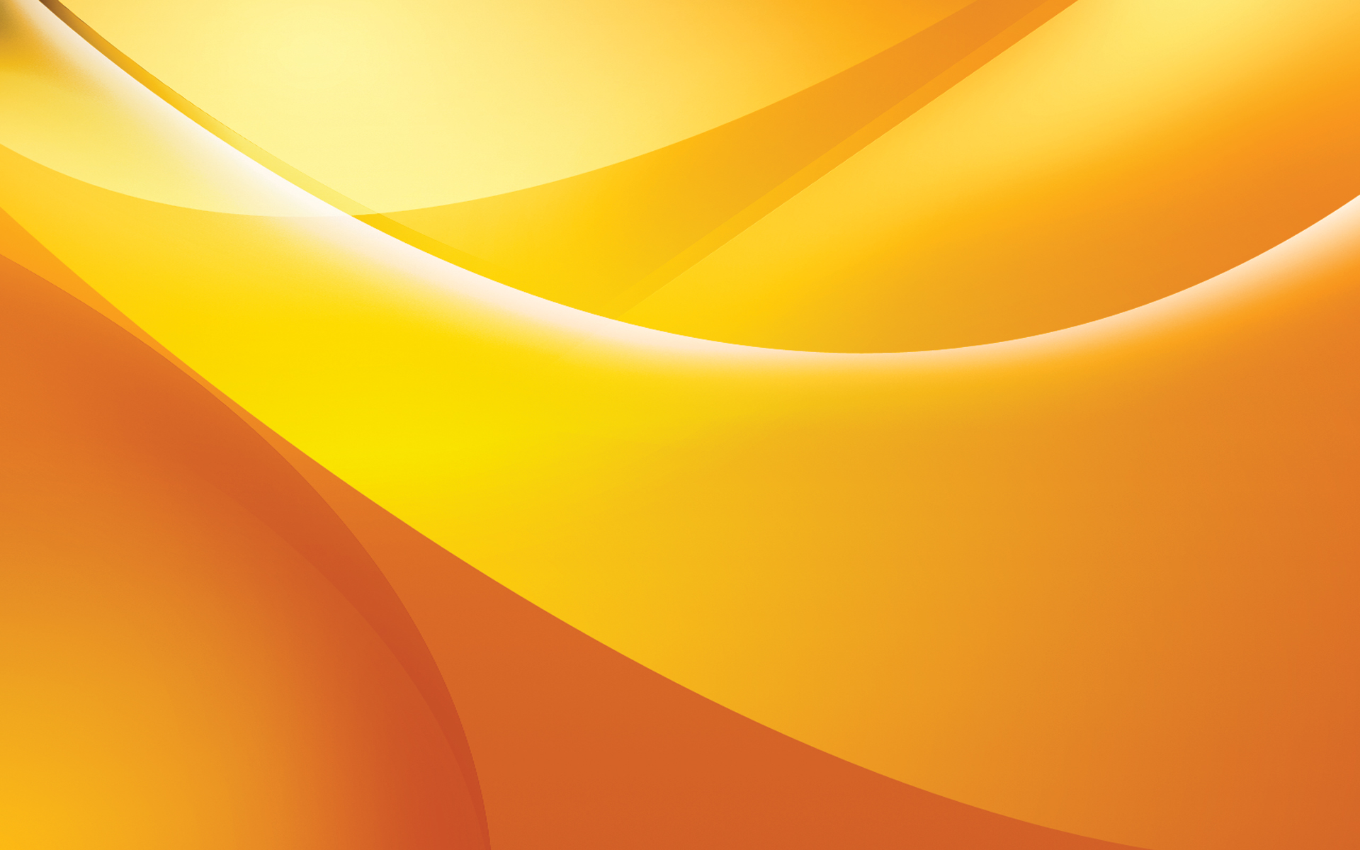 ... Orange curves wallpaper - 91107
