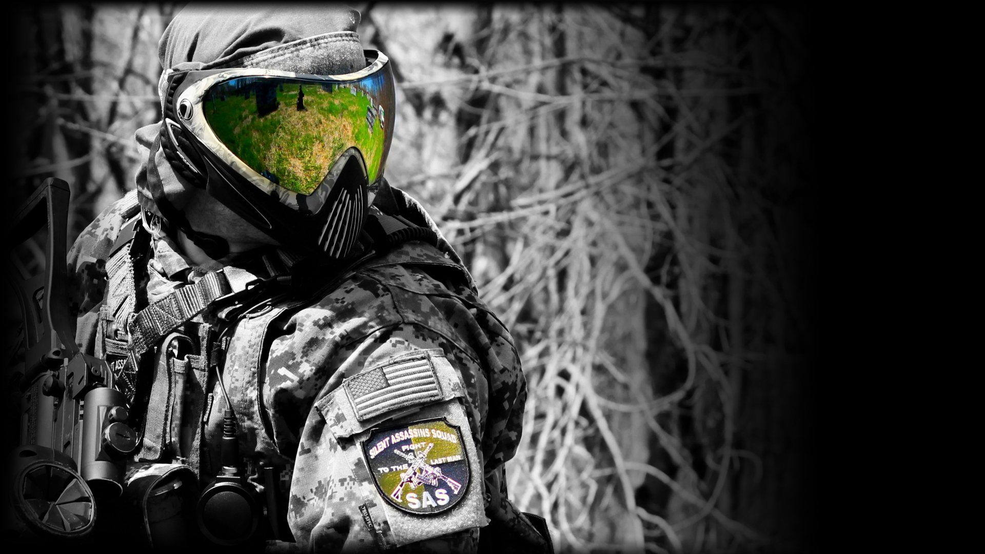 Free Paintball Wallpaper
