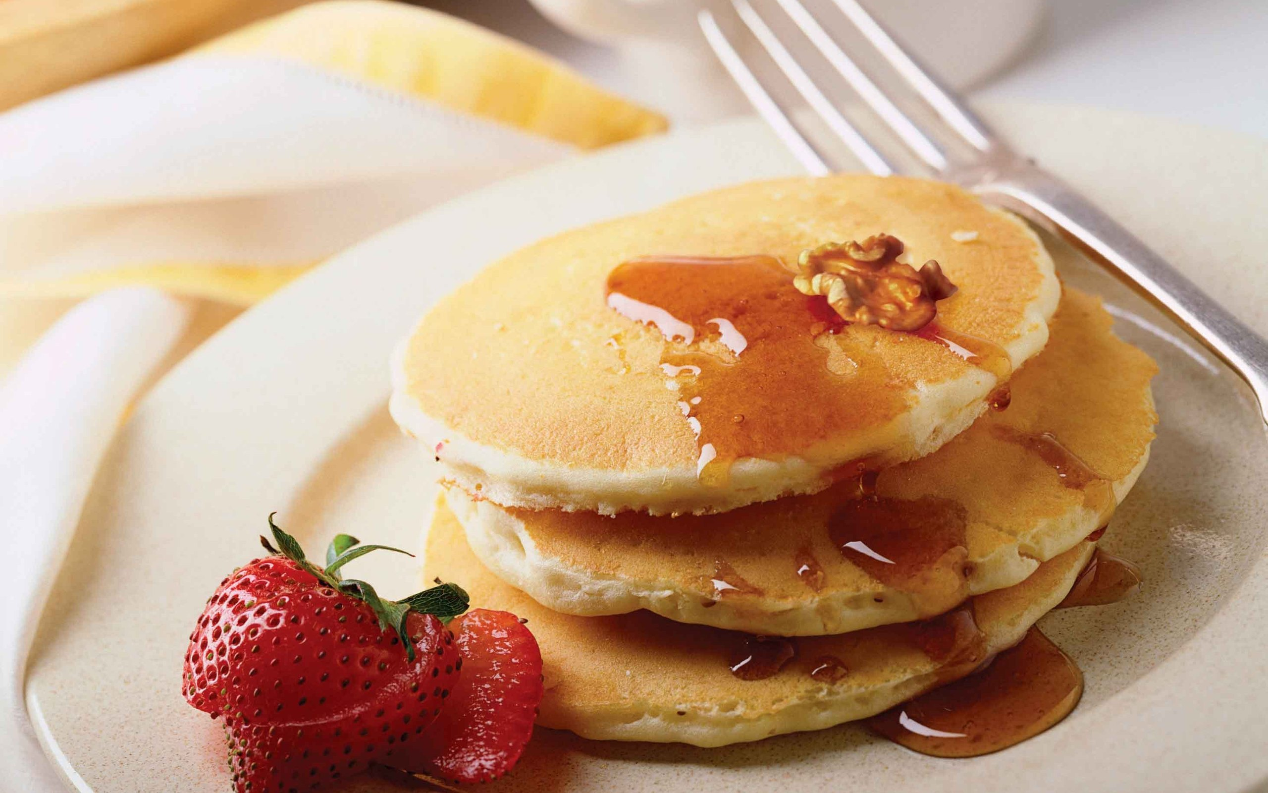 Free Pancakes Background