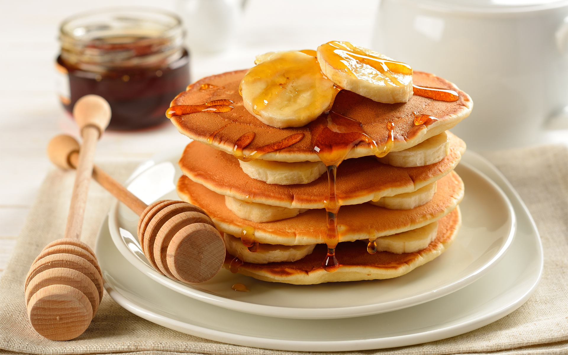 Free Pancakes Wallpaper