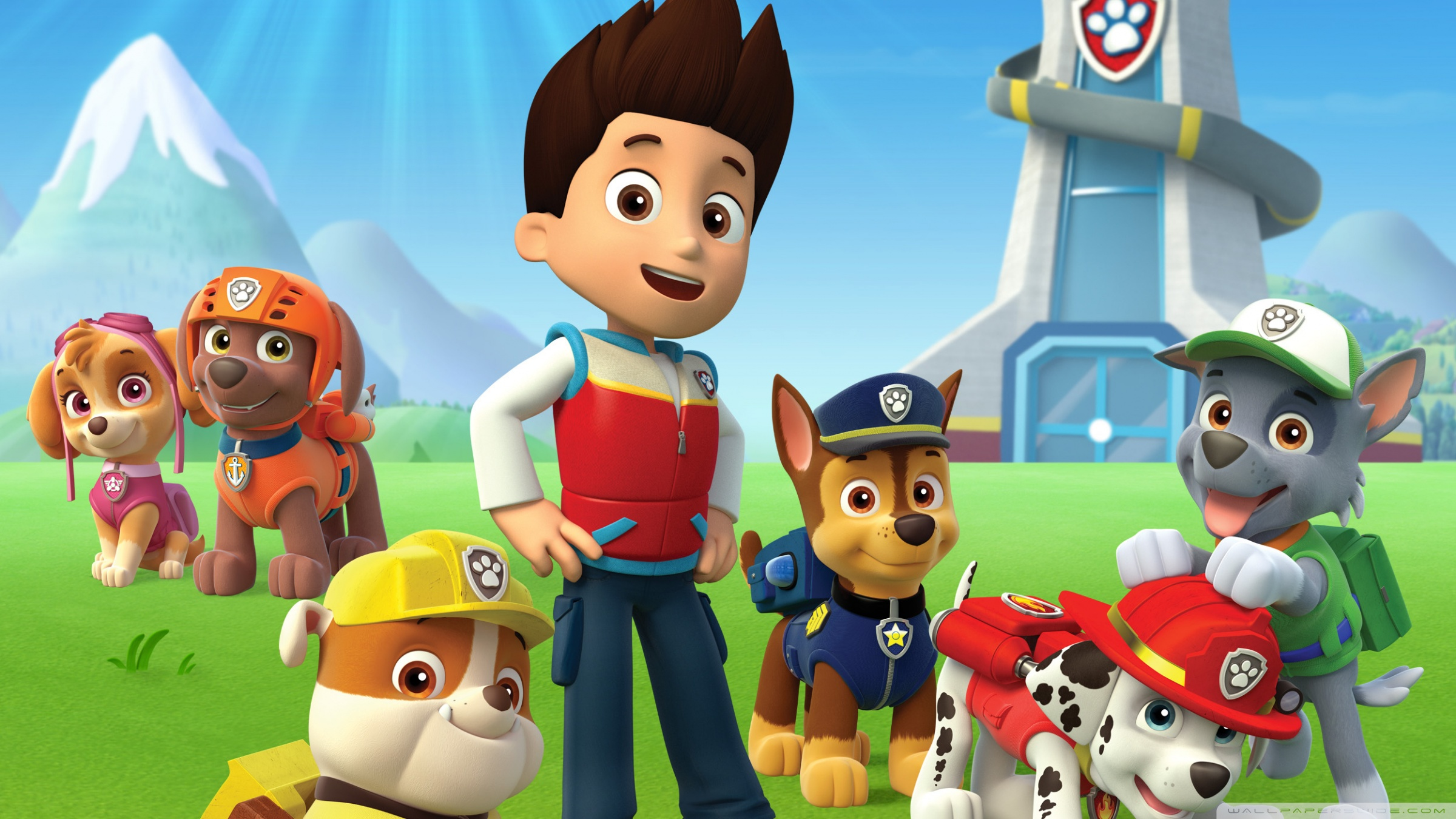 Free Paw Patrol Wallpaper