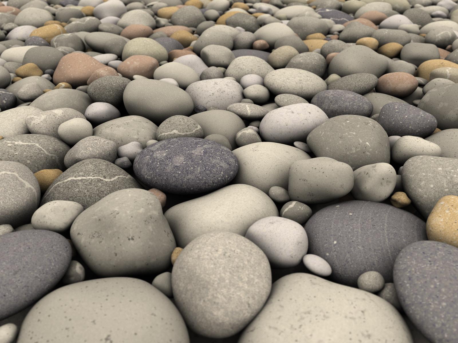 Free Pebbles Wallpaper 15714