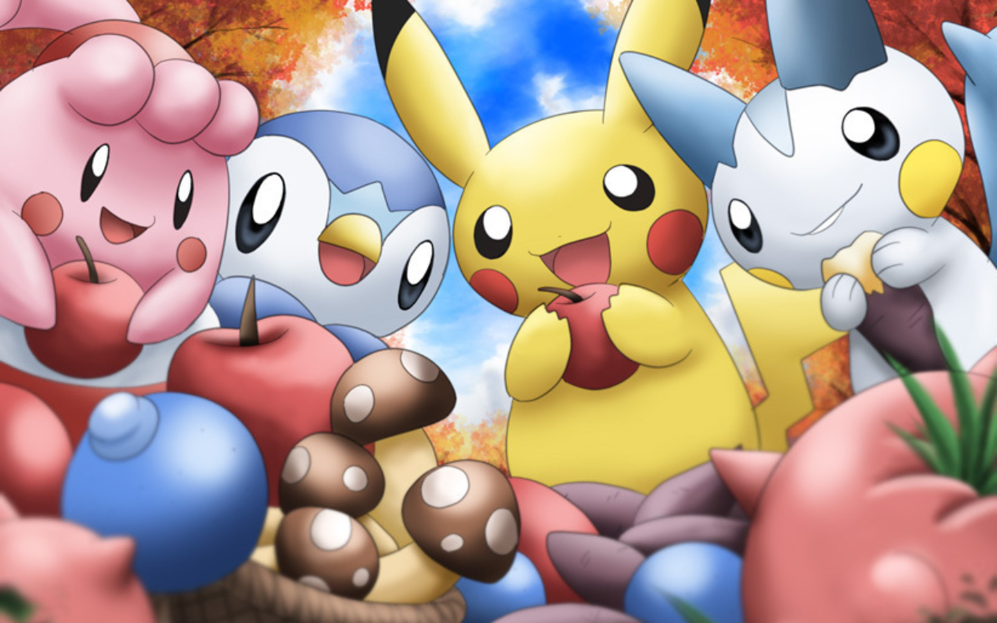 Cute Pokemon Free Desktop Wallpaper
