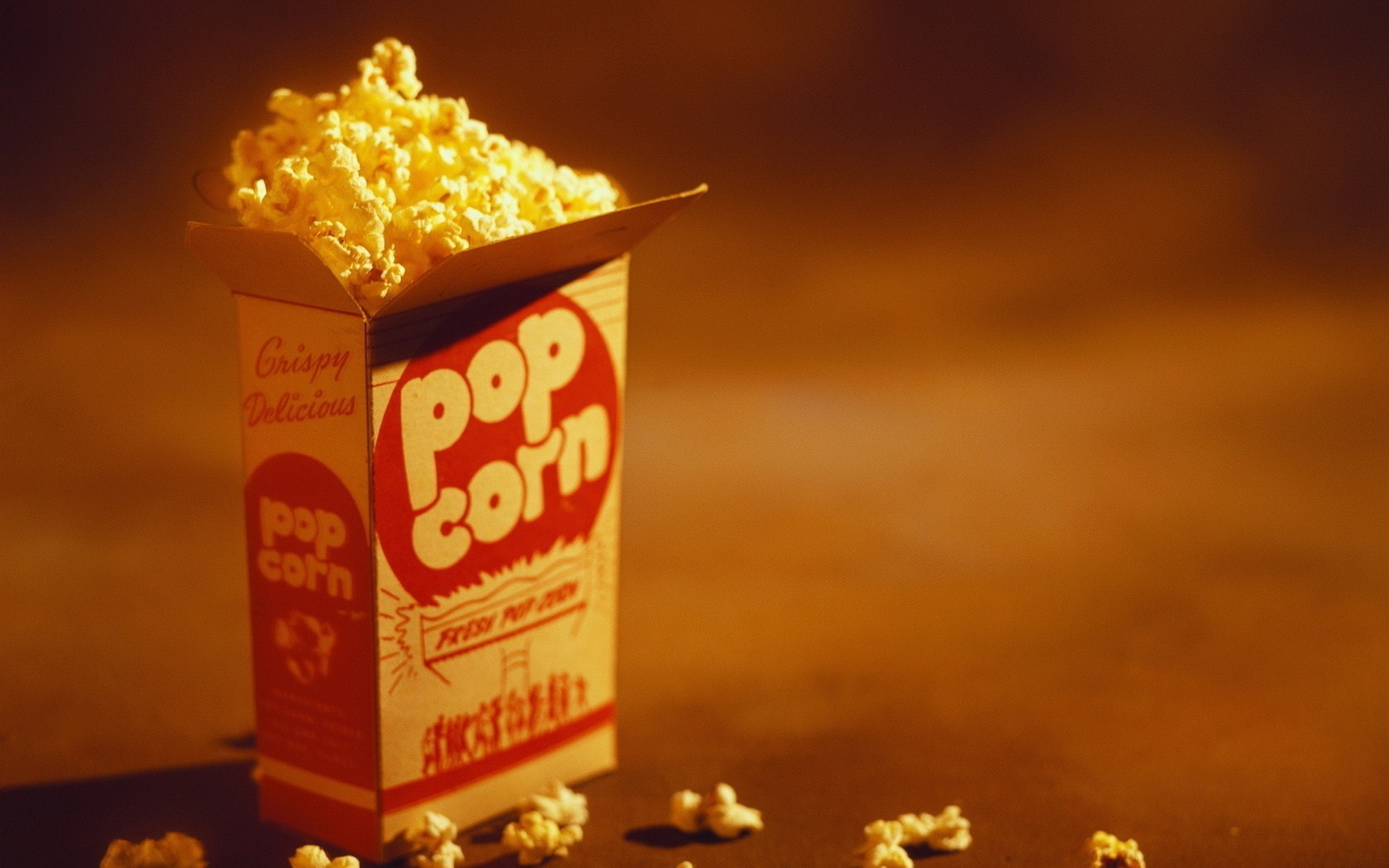 Free Popcorn Wallpaper