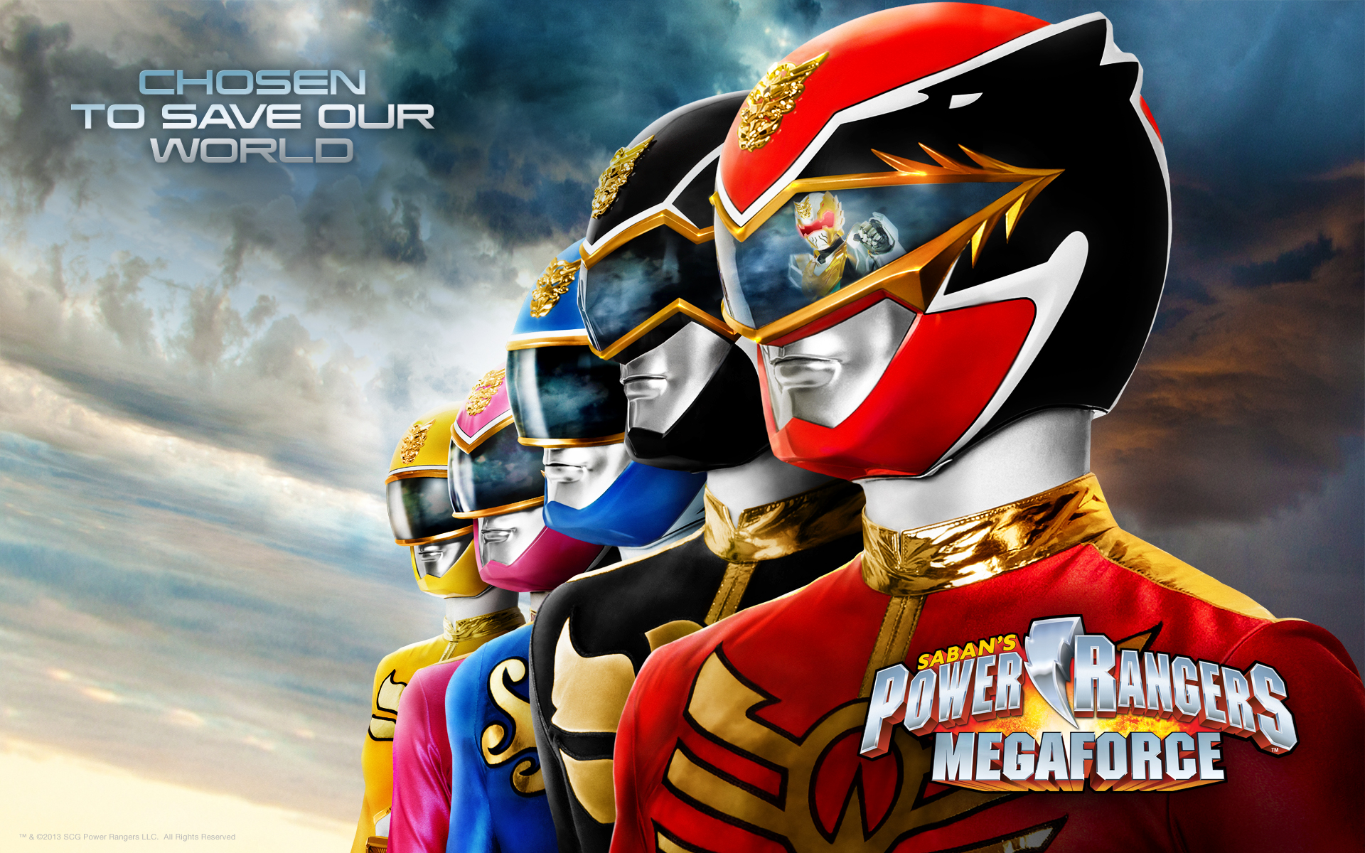 Free Power Rangers Wallpaper