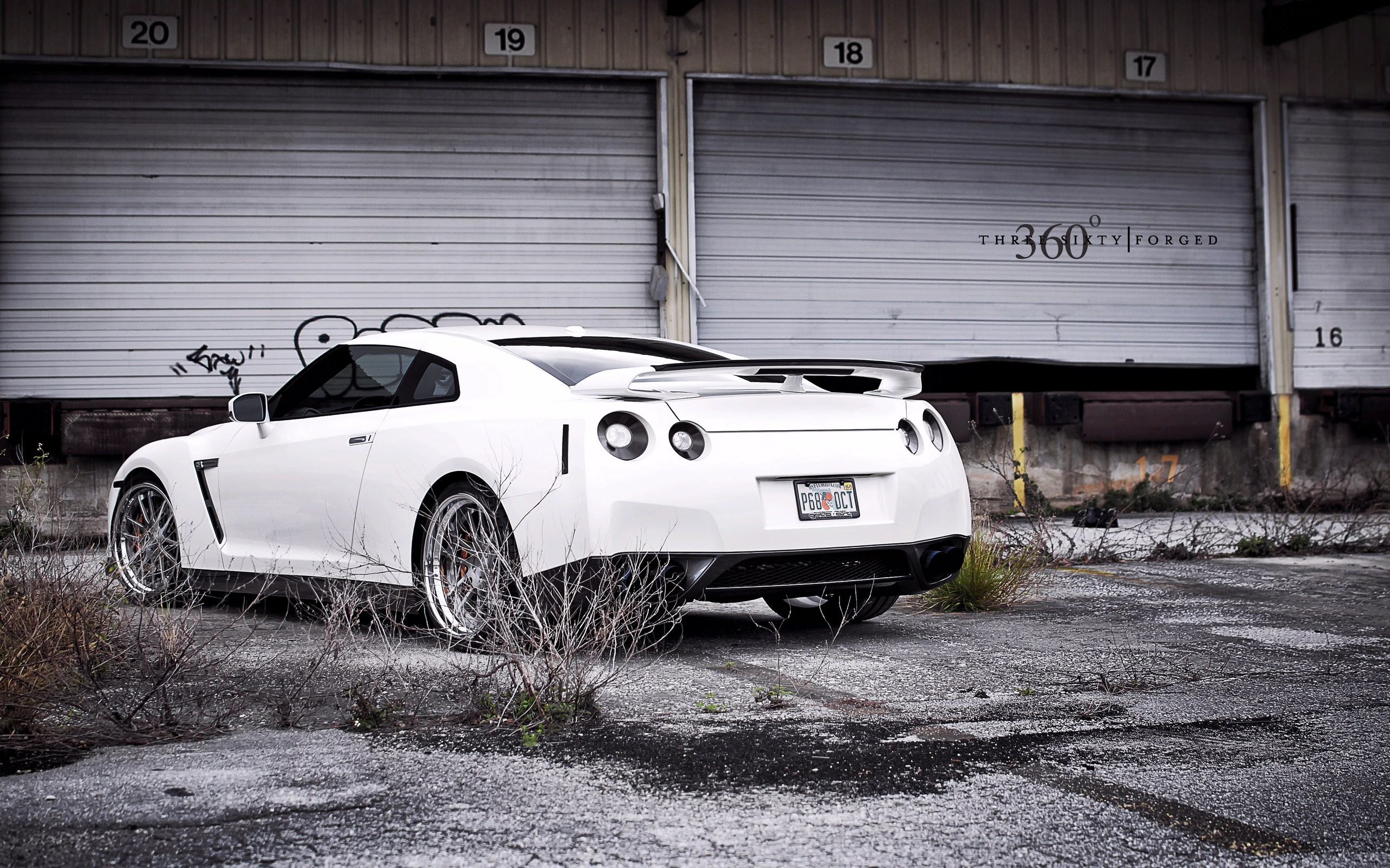 Back Nissan GT-R R35 on 360 Forged Wheels HD Wallpaper is a awesome hd photography. Free to upload, share the high definition photos.