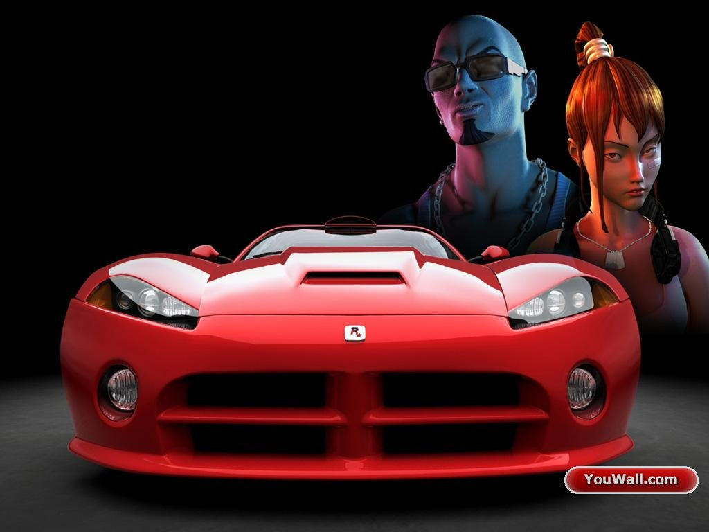 Red Car Wallpaper