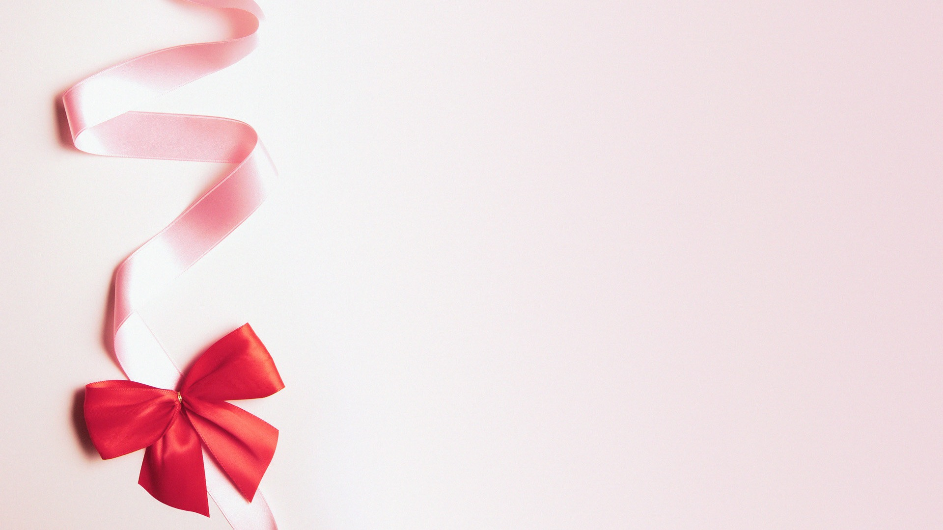 Pink Ribbon Wallpaper