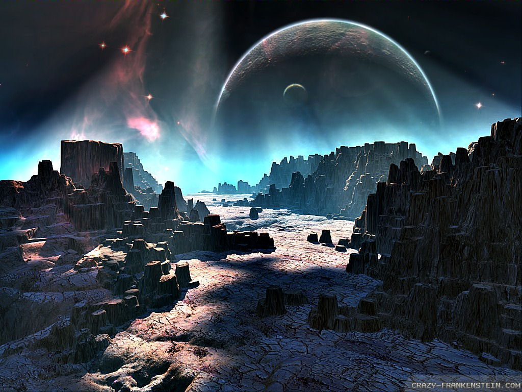 Free Sci Fi Wallpaper