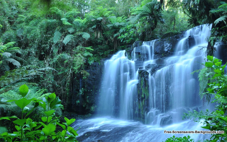 2013 New Waterfall Feb Free Screensavers And