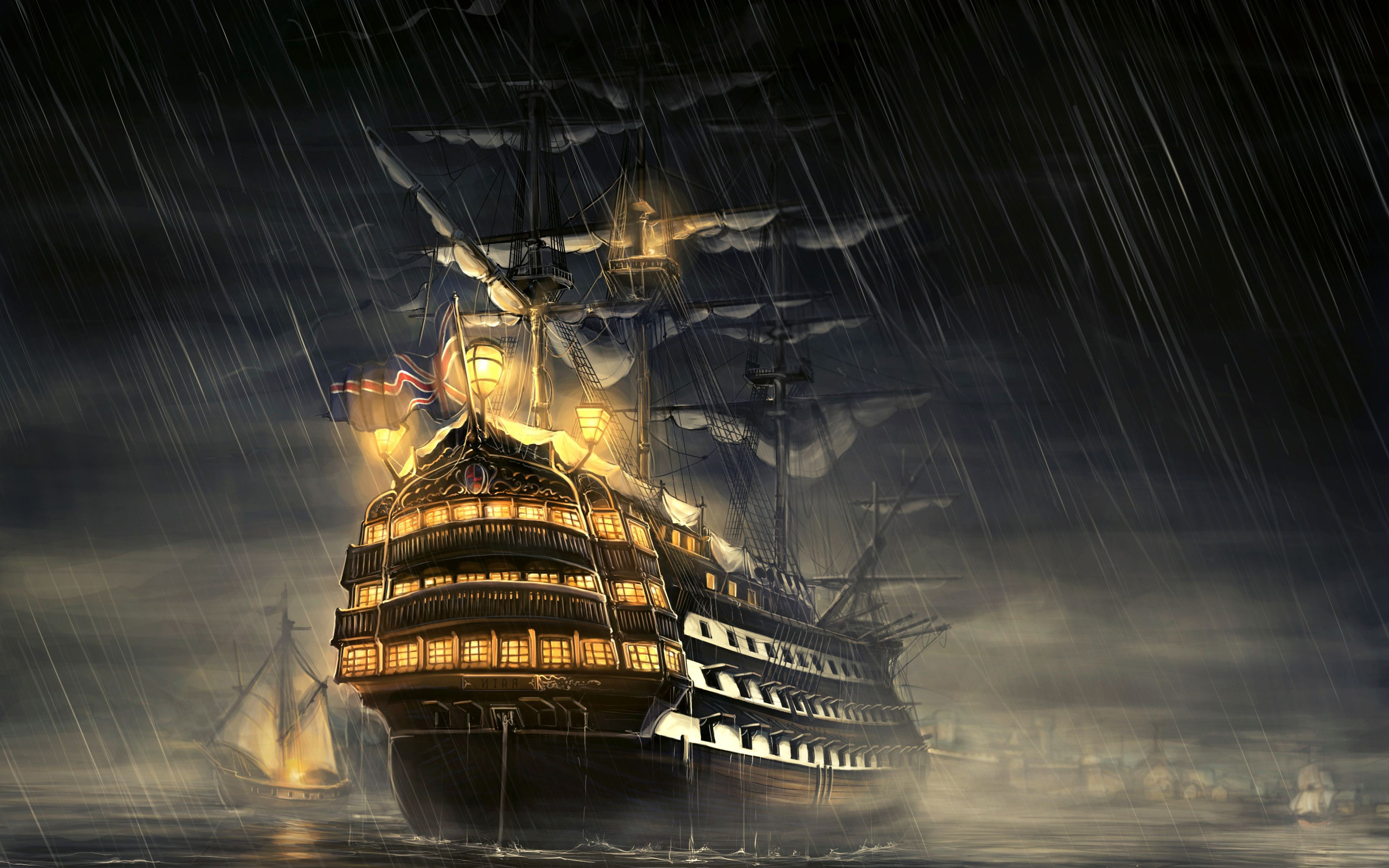 ... ship wallpaper 3 ...
