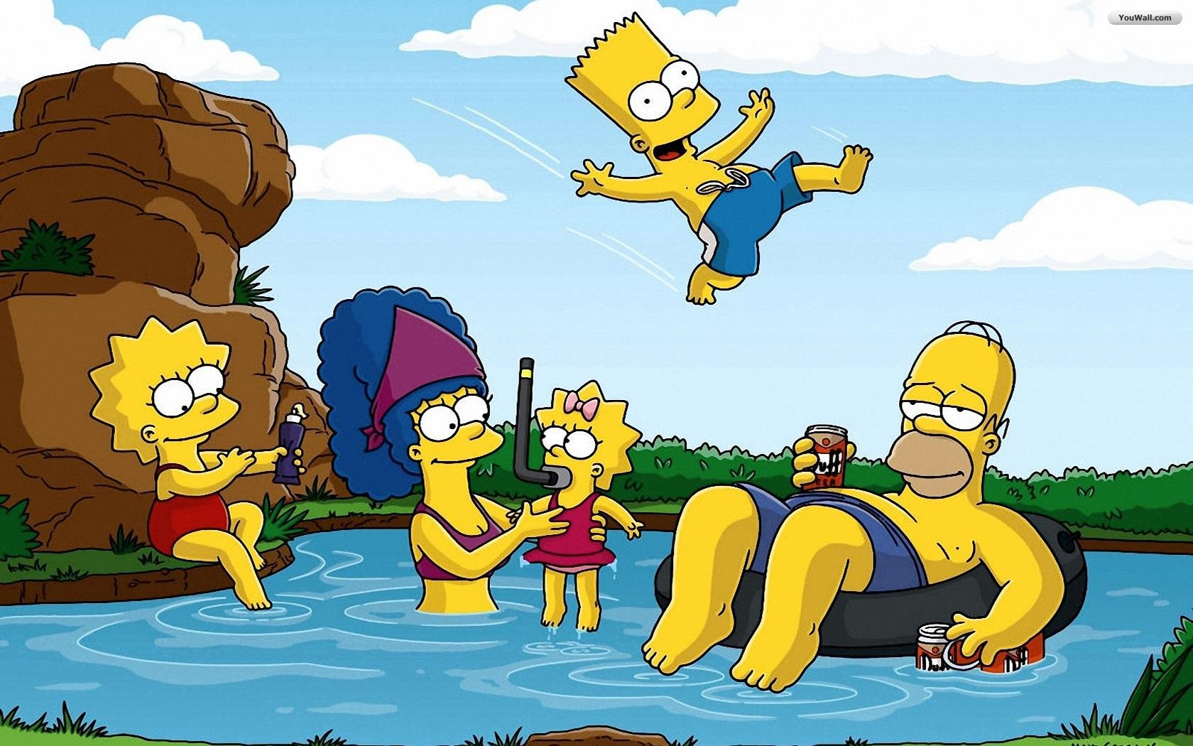 Free Simpsons Wallpaper