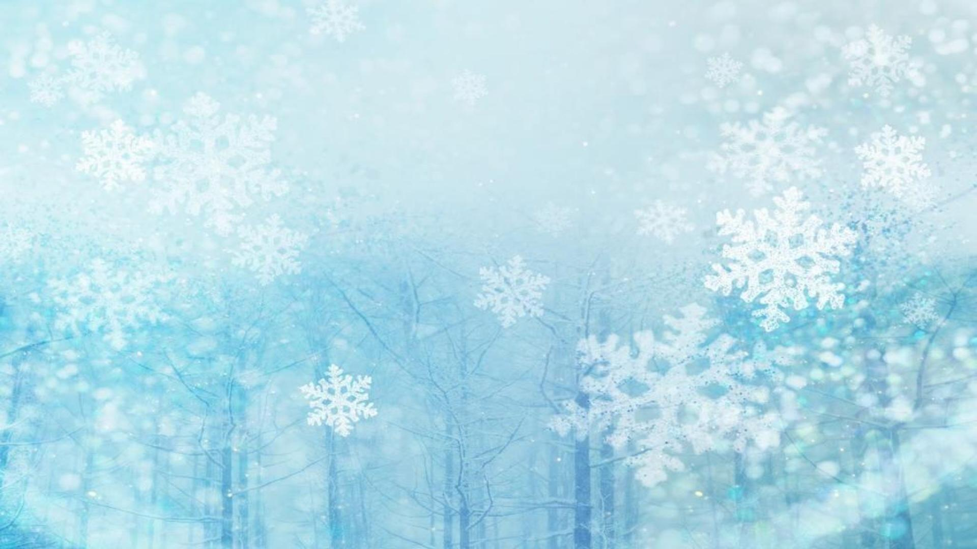 Free Snow Background