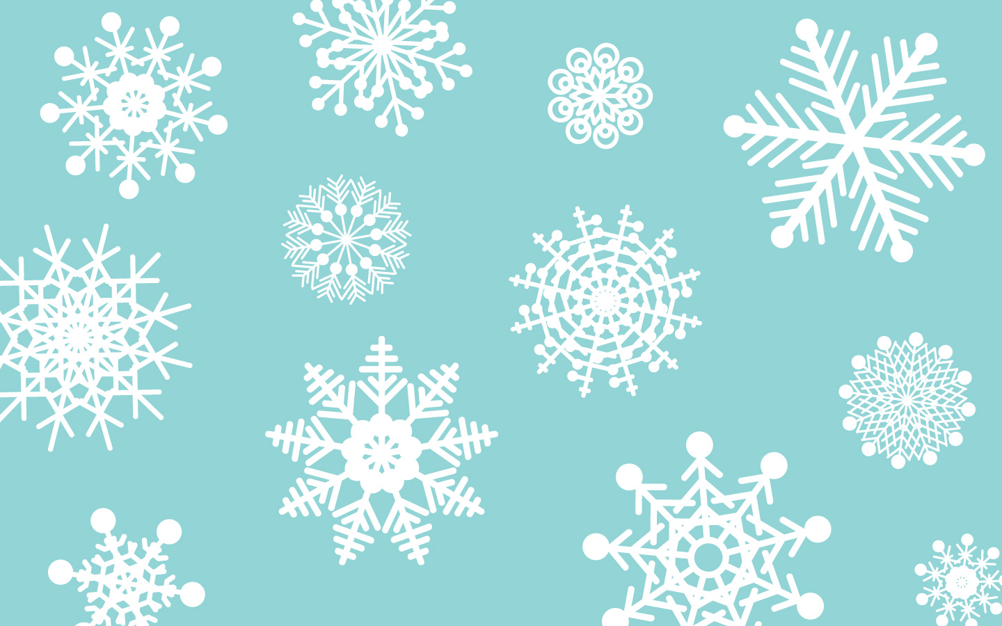 Free Snowflake Background