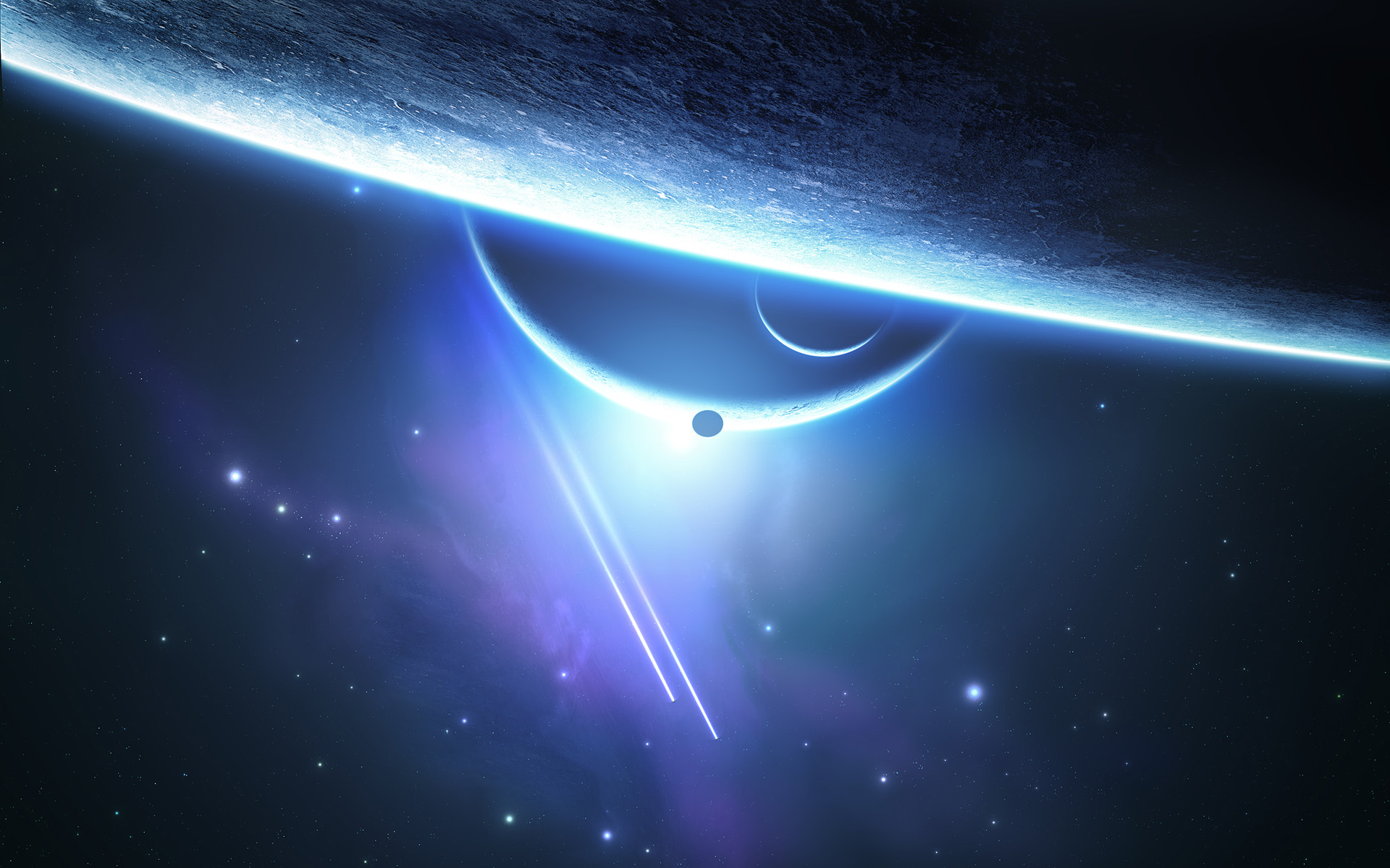 Free Space Screensavers