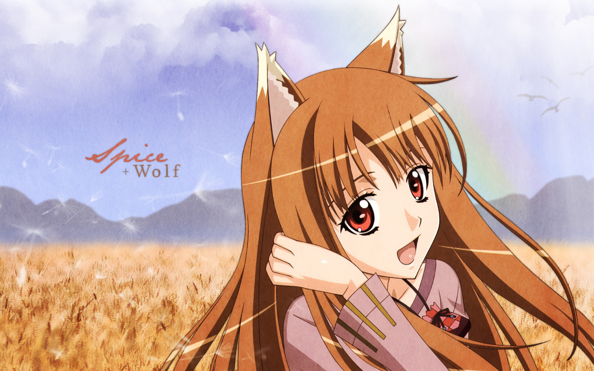 Free Spice And Wolf Wallpaper