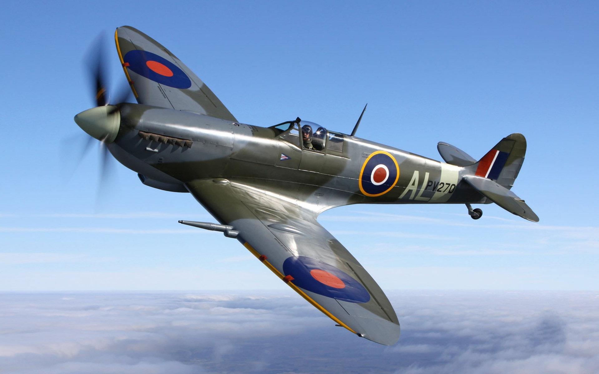 Free Spitfire Wallpaper