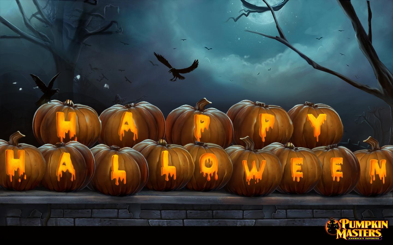 1366 x 768 · 1280 x 1024 · 1080 x 800 · 1024 x 768. Kids Haunted House Free Halloween Wallpaper