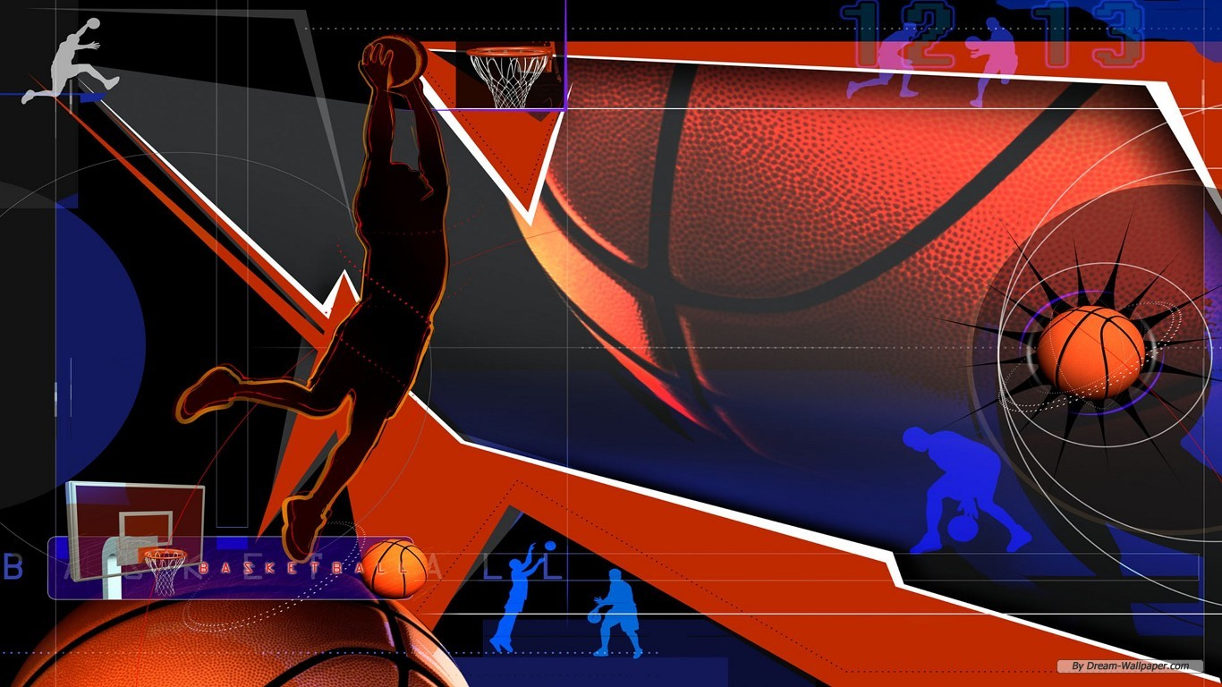 Sport Wallpaper For Walls: Basketball Wallpaper